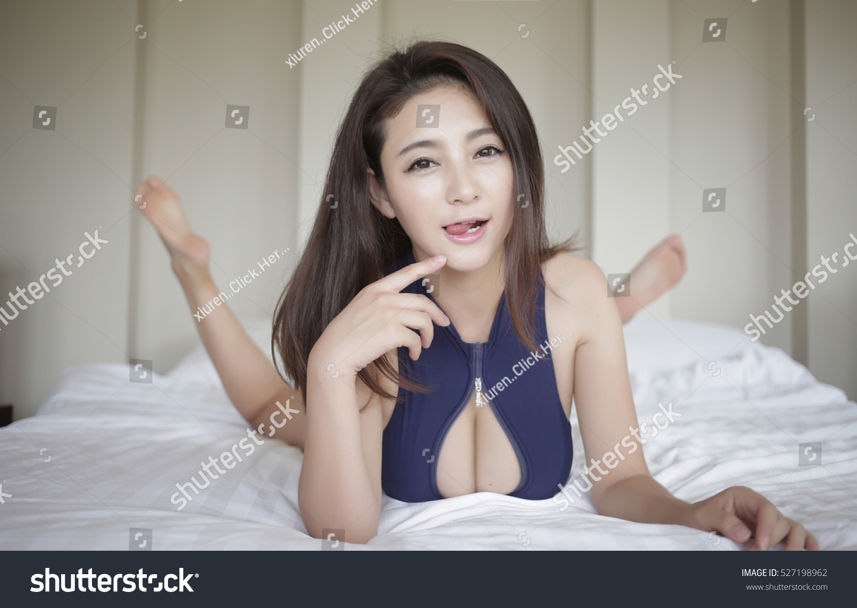 Sexy Girl Flirting