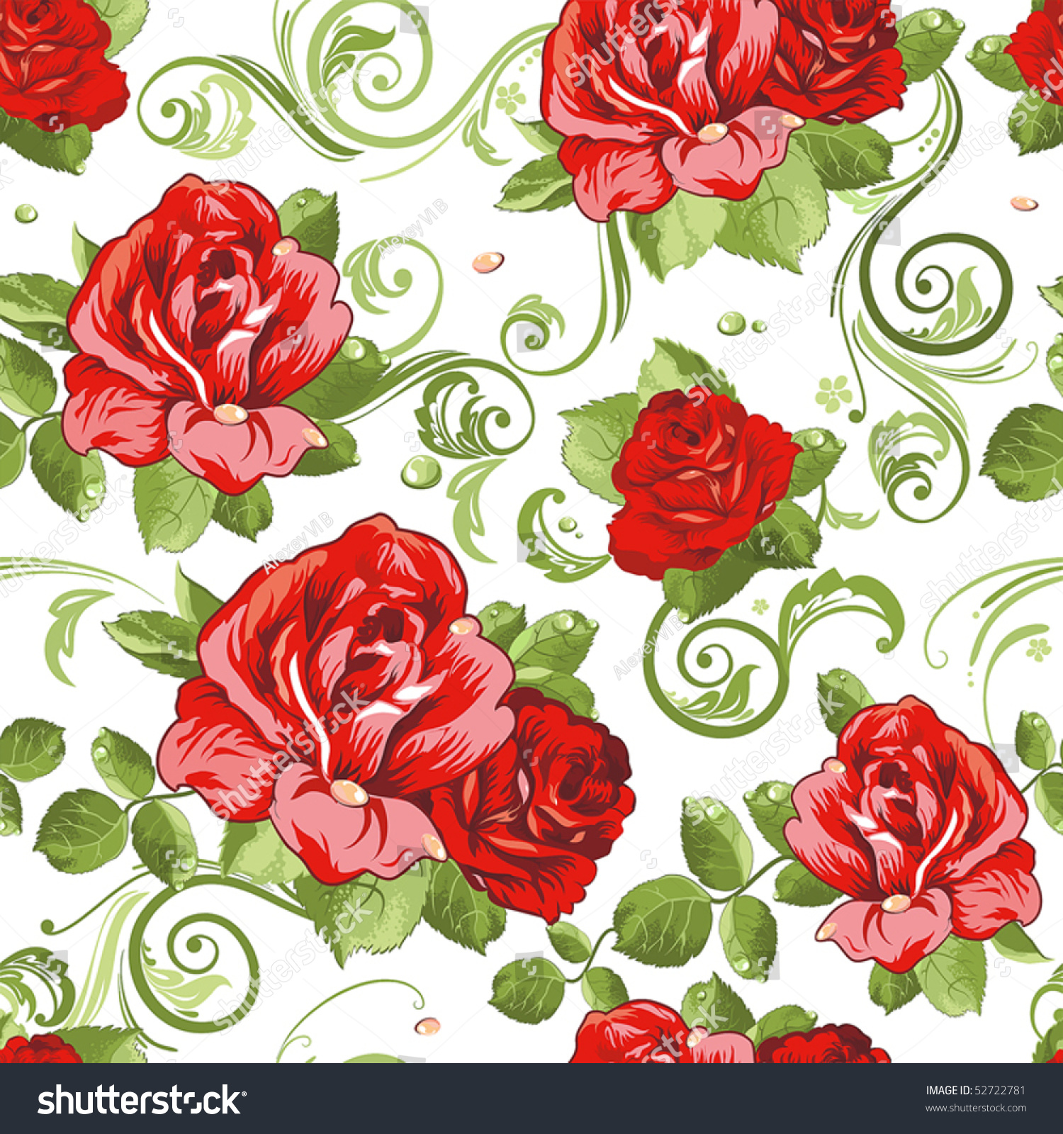 This Page Contains All About Red Rose Wallpaper Pattern