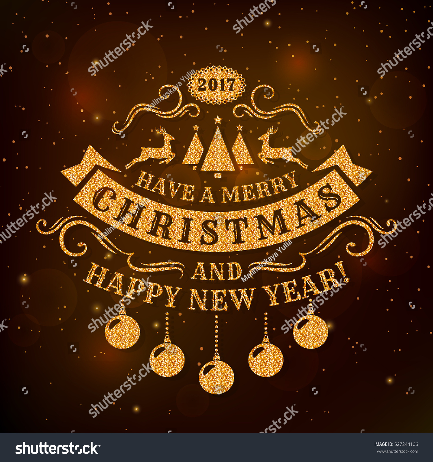 Pics photos merry christmas argyle twitter backgrounds - Merry Christmas And Happy New Year Greeting Card With Dark Background And Golden Glitter Typography