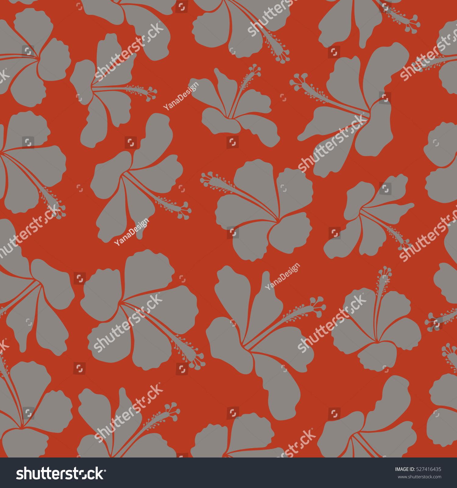 Design Orange Gray Colors Invitation Wedding Stock Vector 527416435 ...