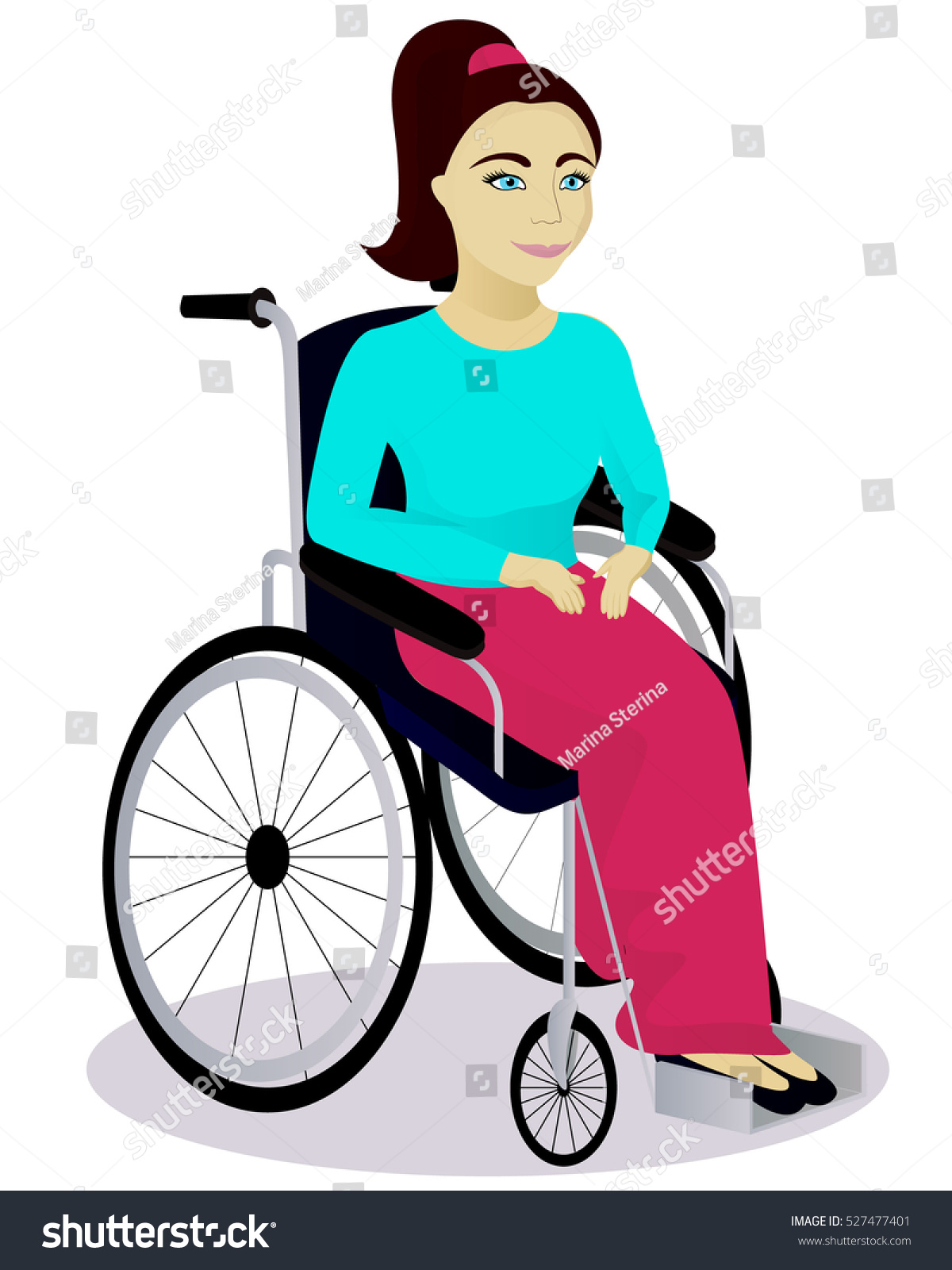 girl in wheelchair cartoon www pixshark com images Cartoon Baby Sitting Clip Art Well On Hill Clip Art