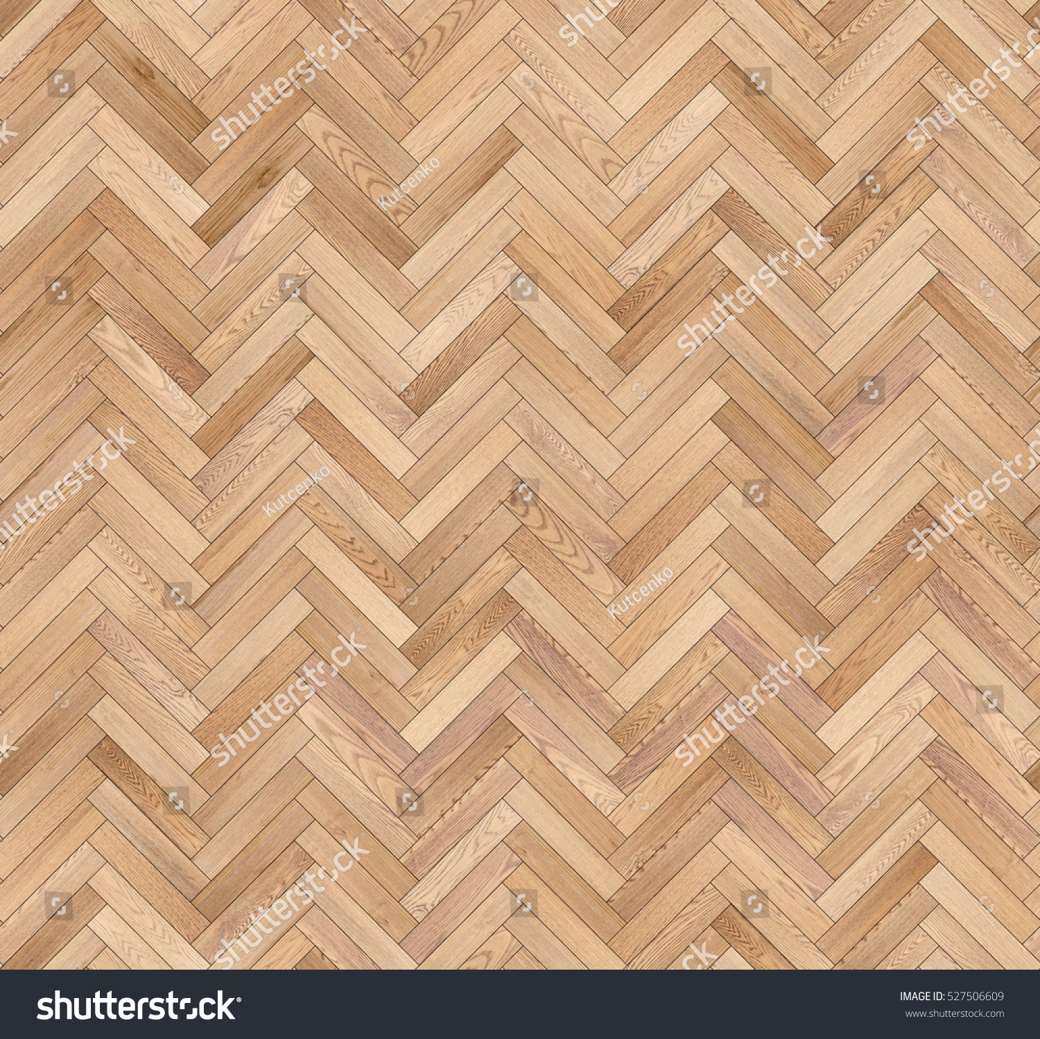 Herringbone Natural Parquet Seamless Floor Texture Stock Photo Edit