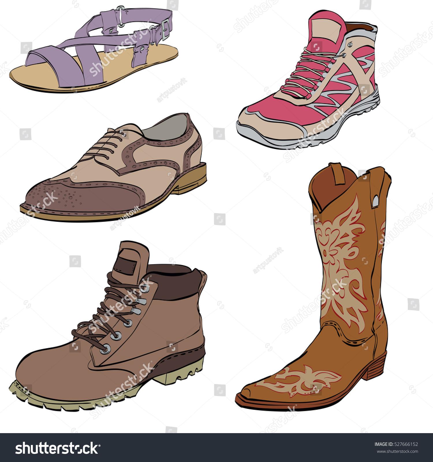 Set Mens Shoes Sneakers Dress Shoes