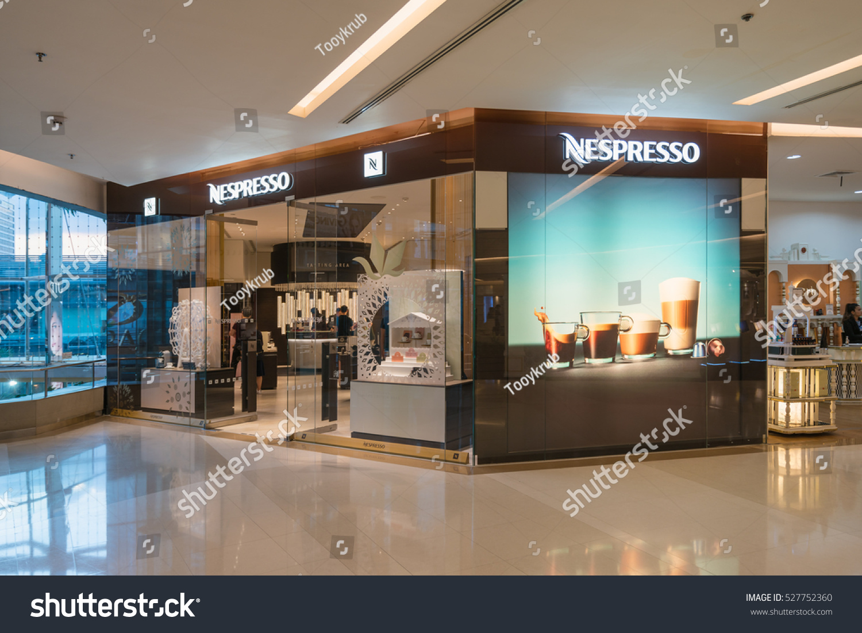 BANGKOK NOV 27 Nespresso Store Siam Stock Photo (Royalty Free ...