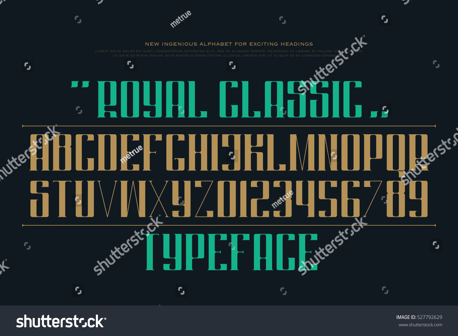 Uppercase alphabet letters numbers vector font stock vector uppercase alphabet letters and numbers vector font type design decorative lettering symbols stylish buycottarizona Gallery