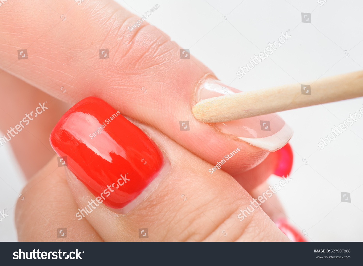 Nail Salon Hands Beauty Treatment Cuticles Stock Photo (Royalty Free ...
