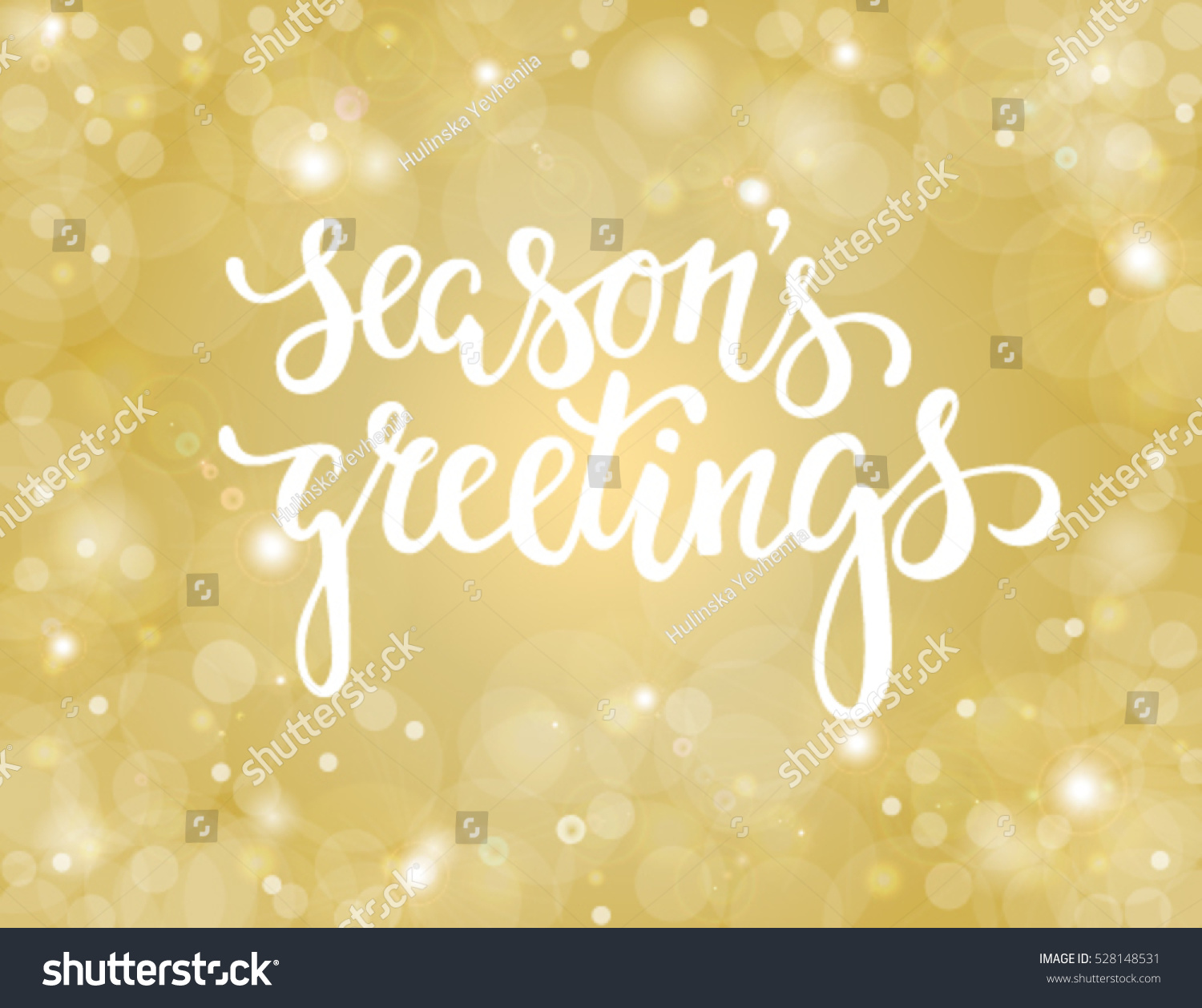 handdrawn lettering seasons greetings design for holiday greeting cards and invitations of the merry christmas - Seasons Greetings Cards