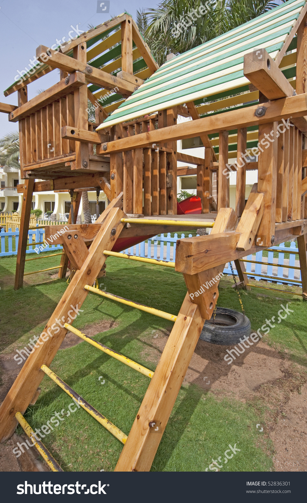 childrens climbing frame play area stock photo 52836301 shutterstock