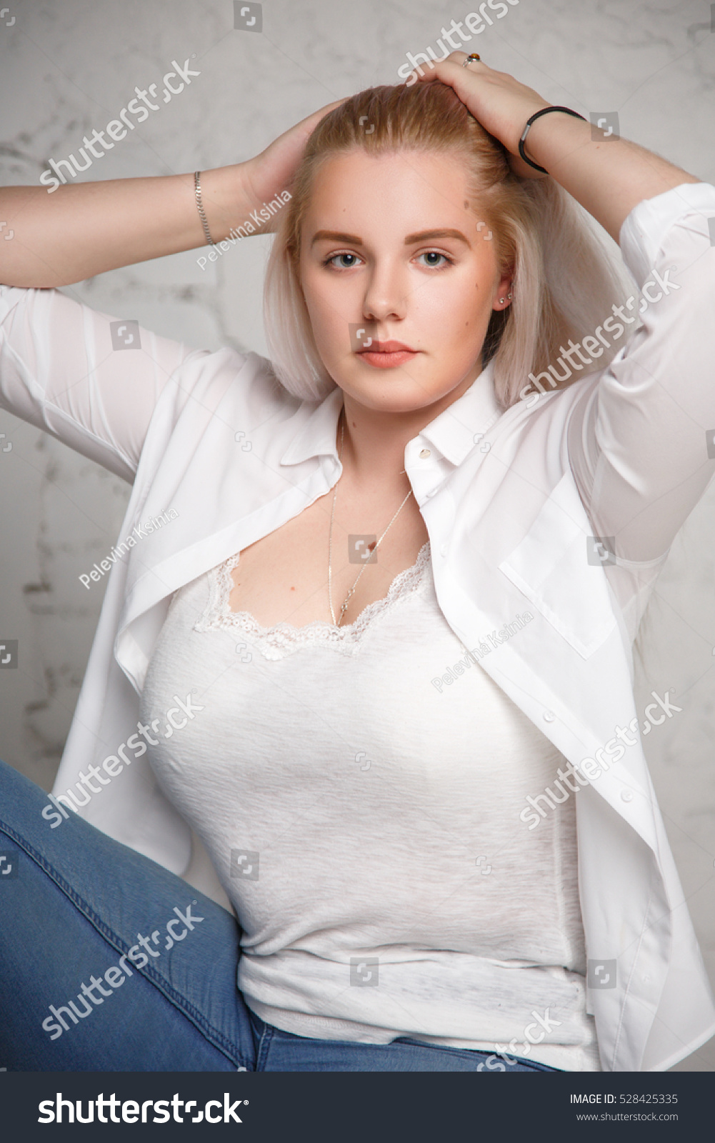 Big Blonde Woman