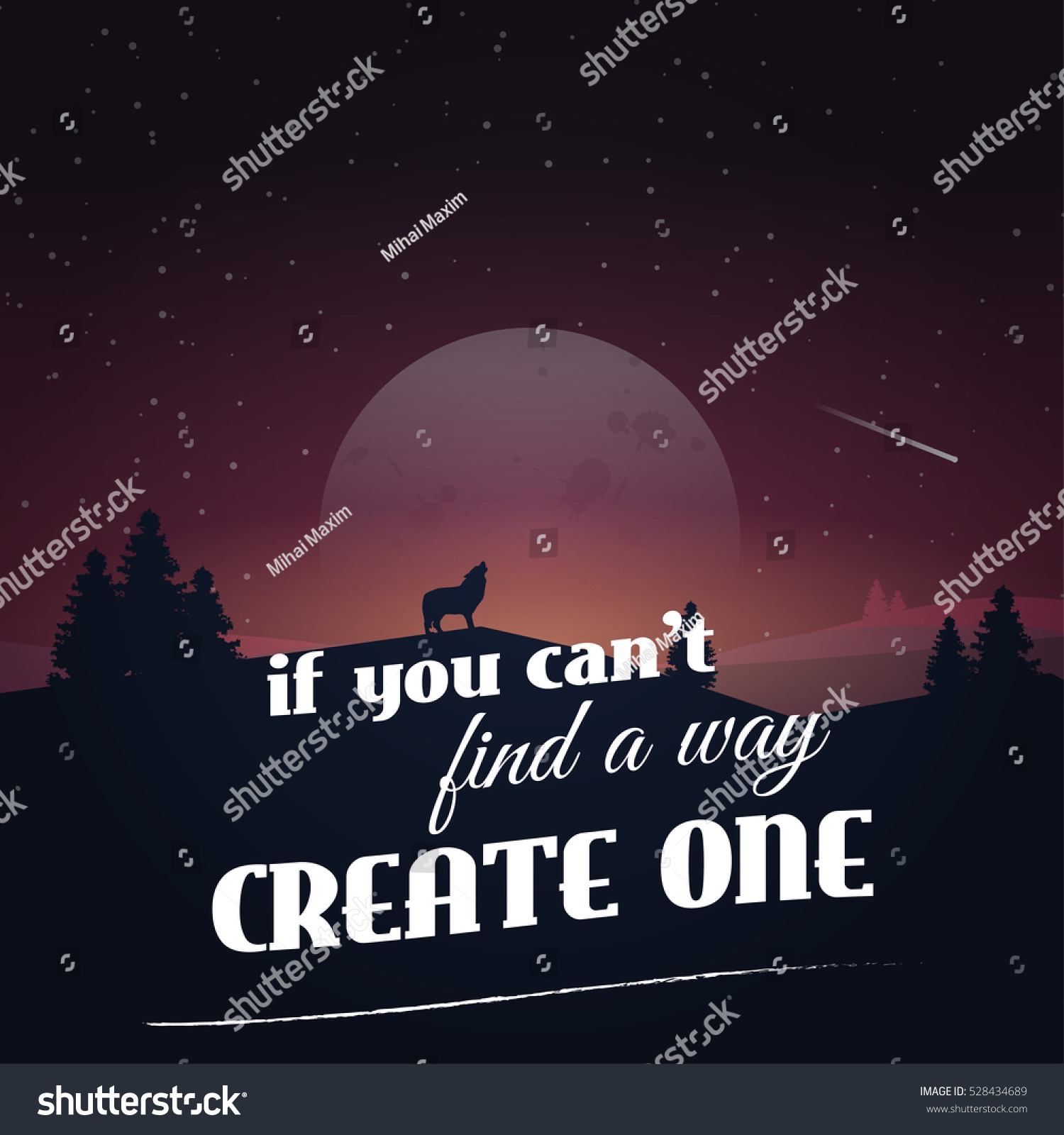 how to create a motivational poster