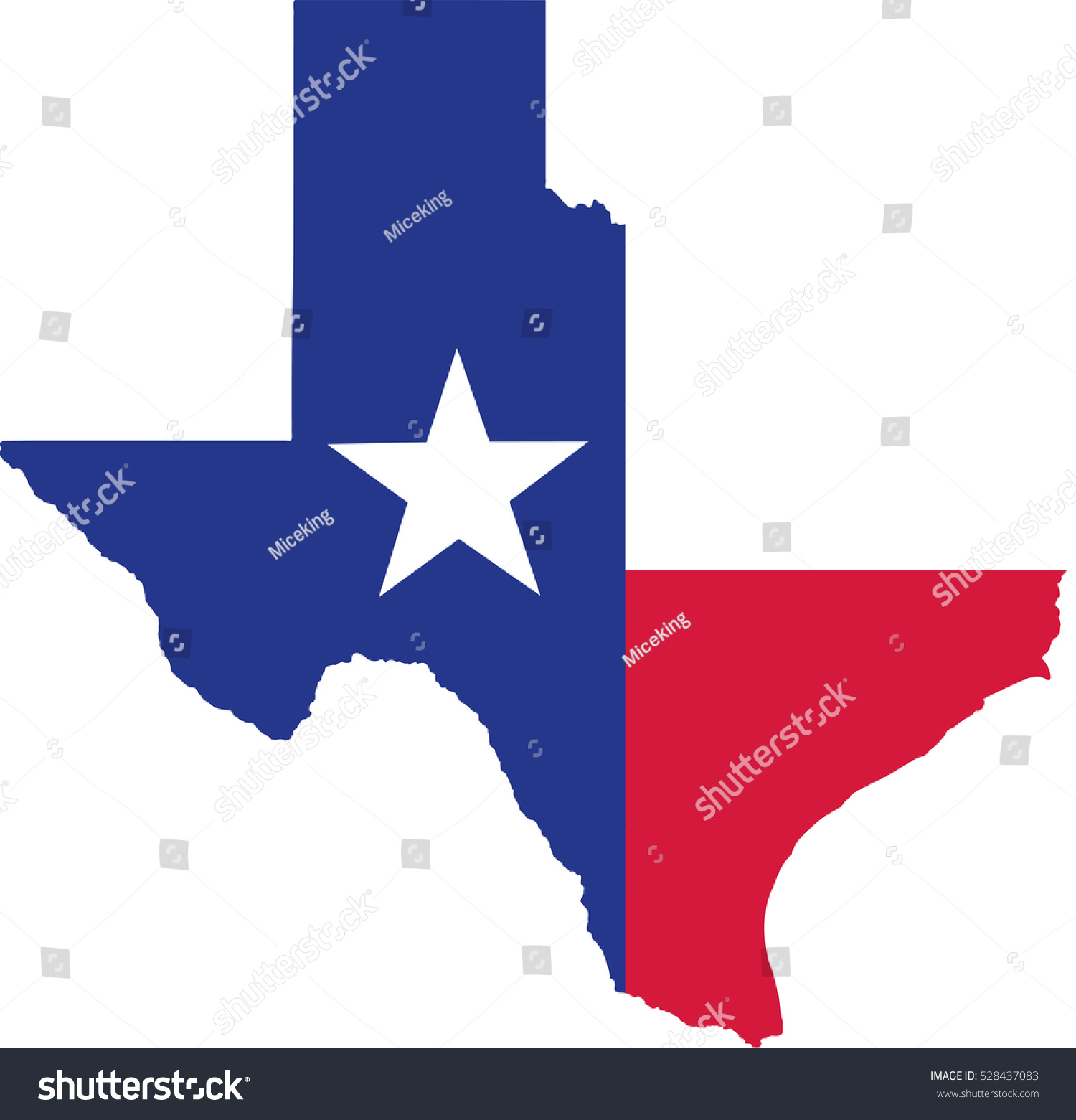 Texas State Map Flag Stock Vector Shutterstock - Texas state map images