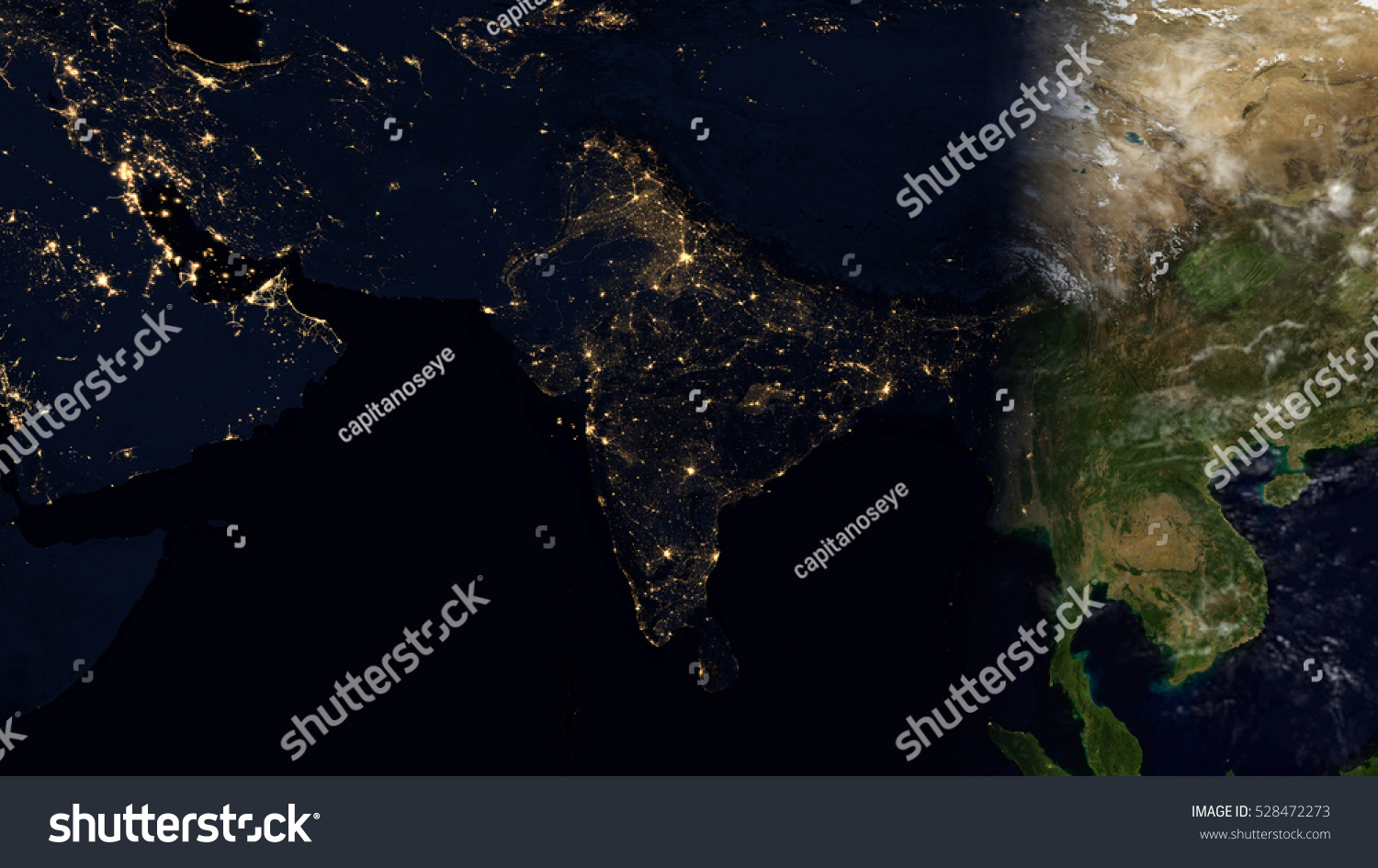 India satellite space view planet earth stock illustration 528472273 india satellite space view planet earth map composition elements of this image furnished by gumiabroncs Choice Image