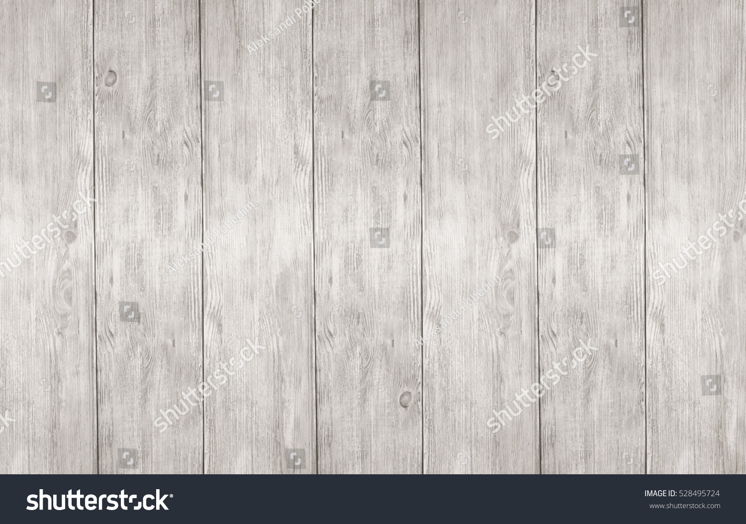 Whitewash Wooden Planks Boards Panel Texture Stock Photo