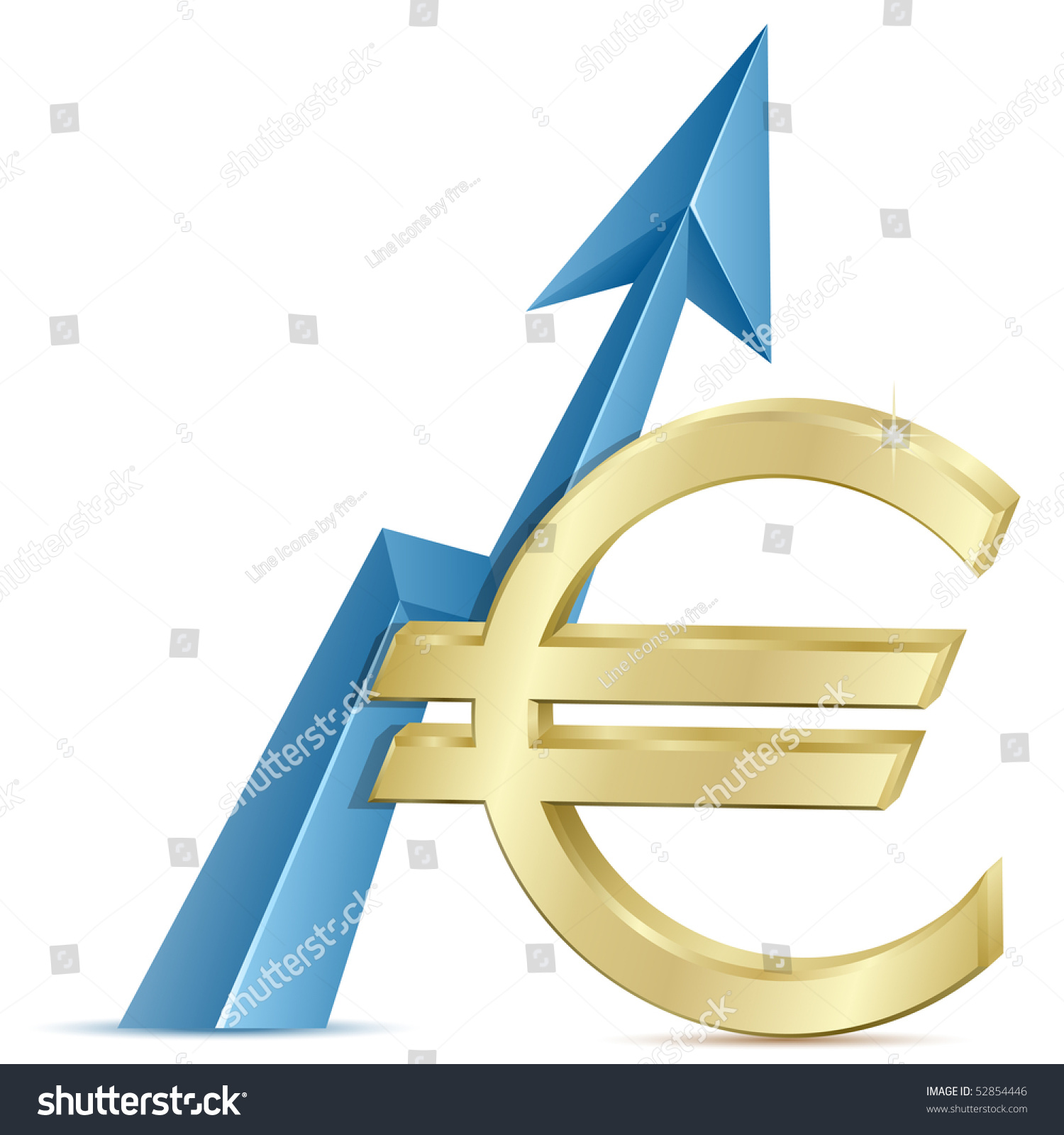 Euro growth growth chart euro sign stock vector 52854446 euro growth growth chart with euro sign exchange rate nvjuhfo Gallery