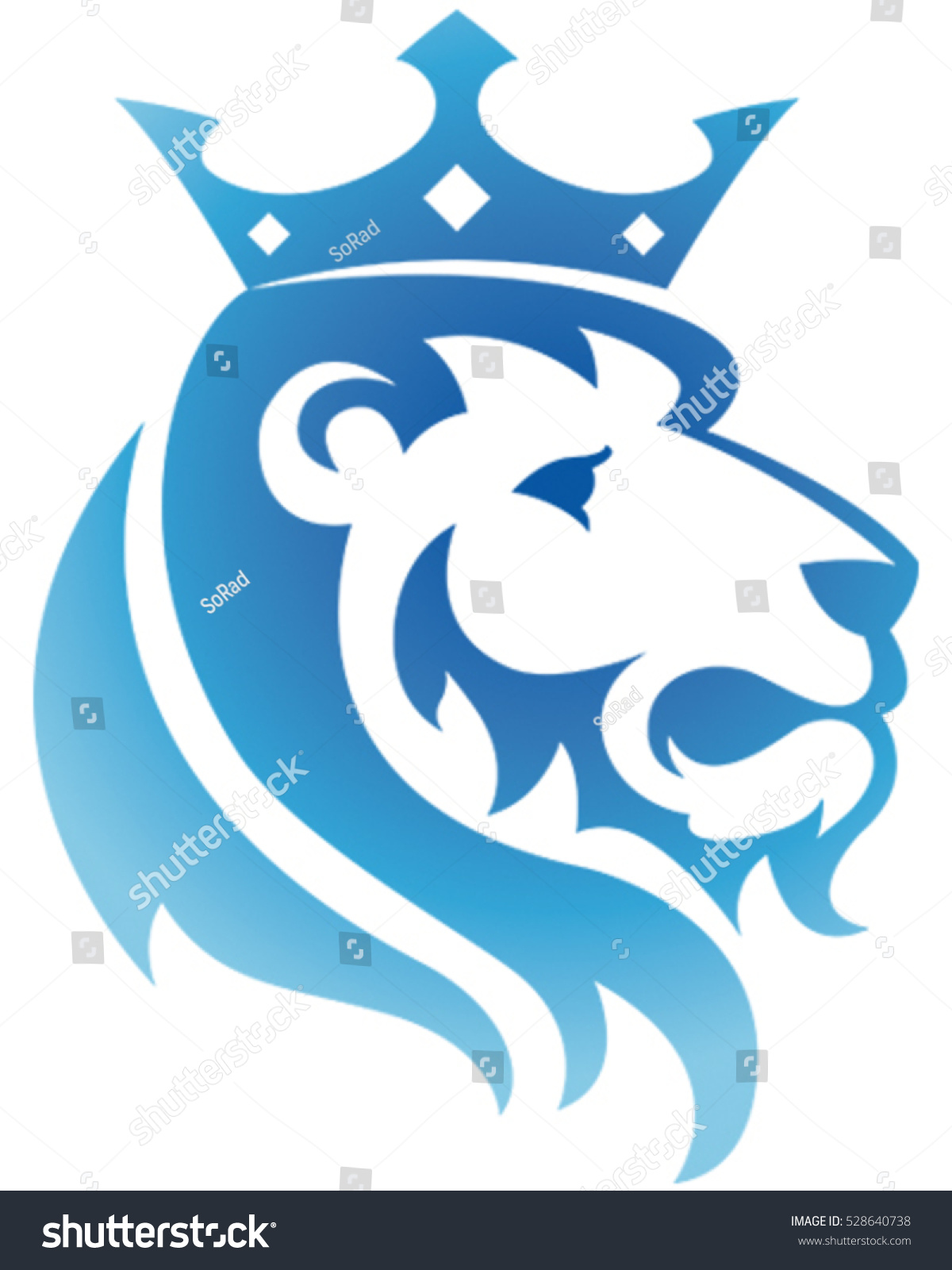 King lion icon vector illustration stock vector 528640738 king lion icon vector illustration biocorpaavc Gallery