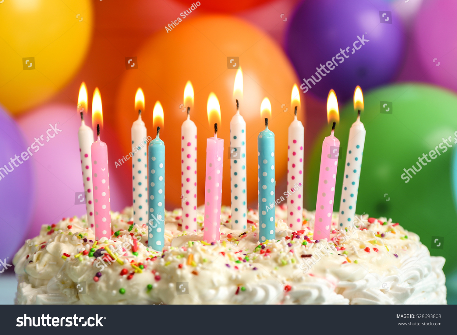 Awe Inspiring Birthday Cake Candles On Balloons Background Stock Photo Edit Now Funny Birthday Cards Online Elaedamsfinfo