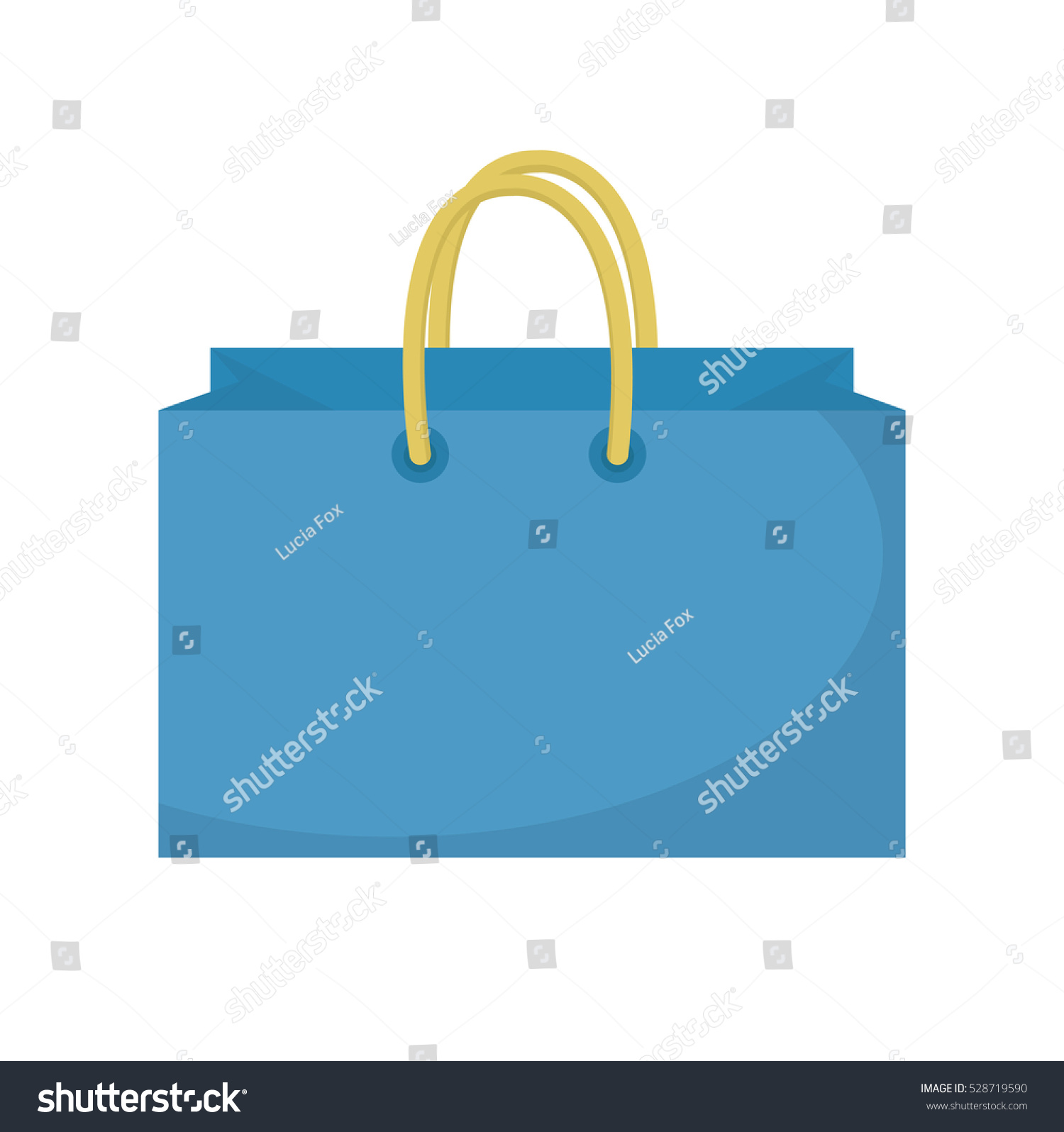 565df9d279 Shopping bag icon flat style. Colorful shopping bag sign symbol. Paper bags  isolated on