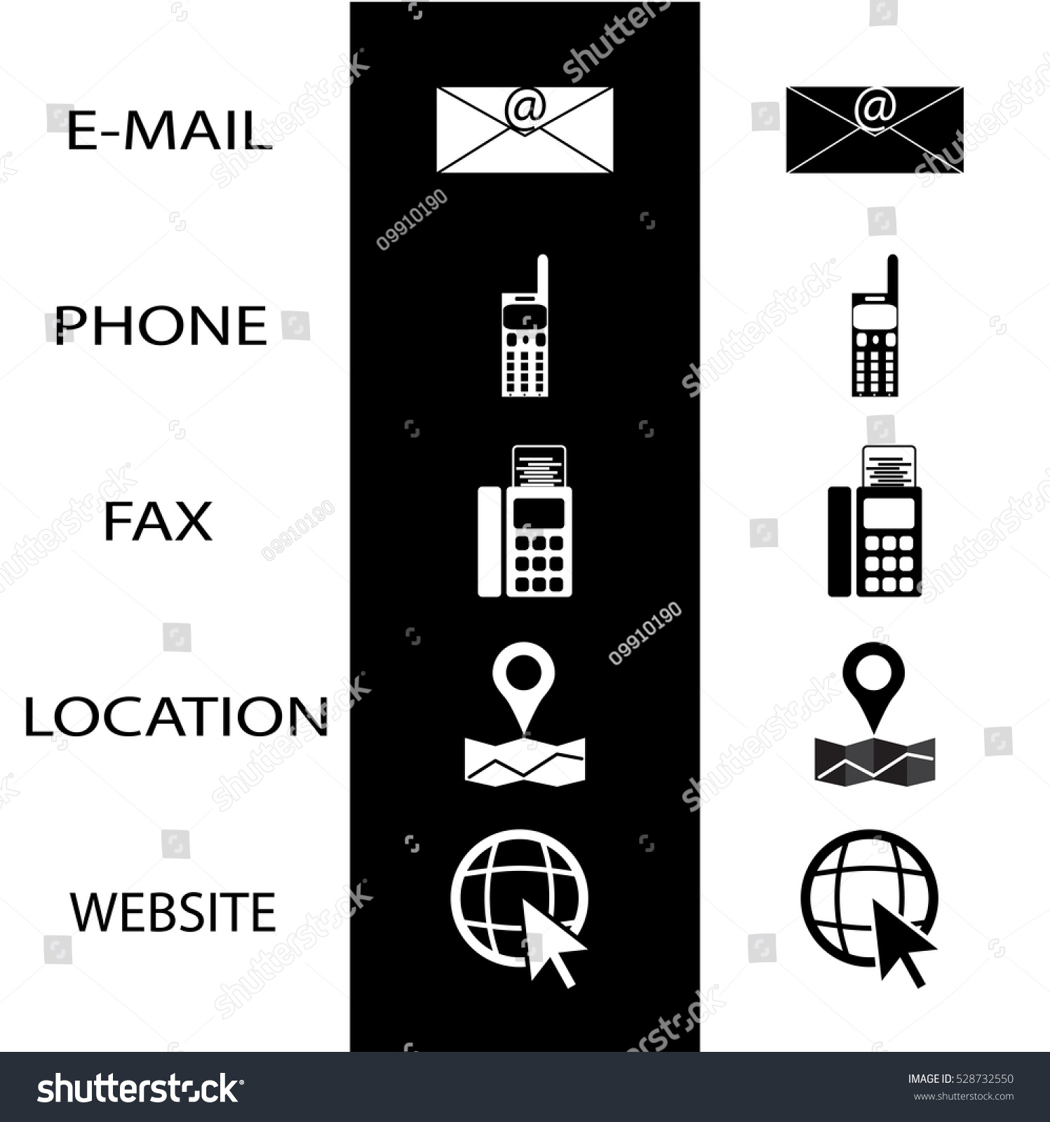Phone icon for business cards images free business cards business card phone icon image collections free business cards icons conctact business card phone fax stock magicingreecefo Images