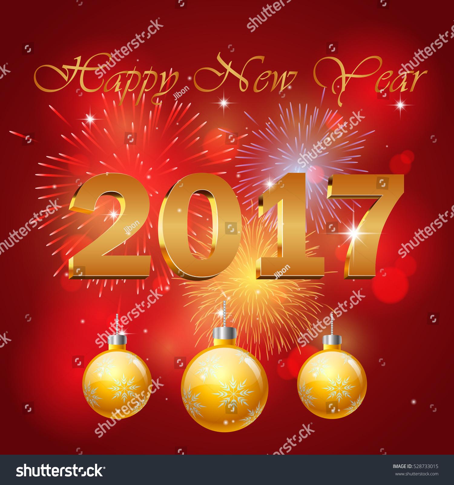 happy new year 2017 background your のベクター画像素材