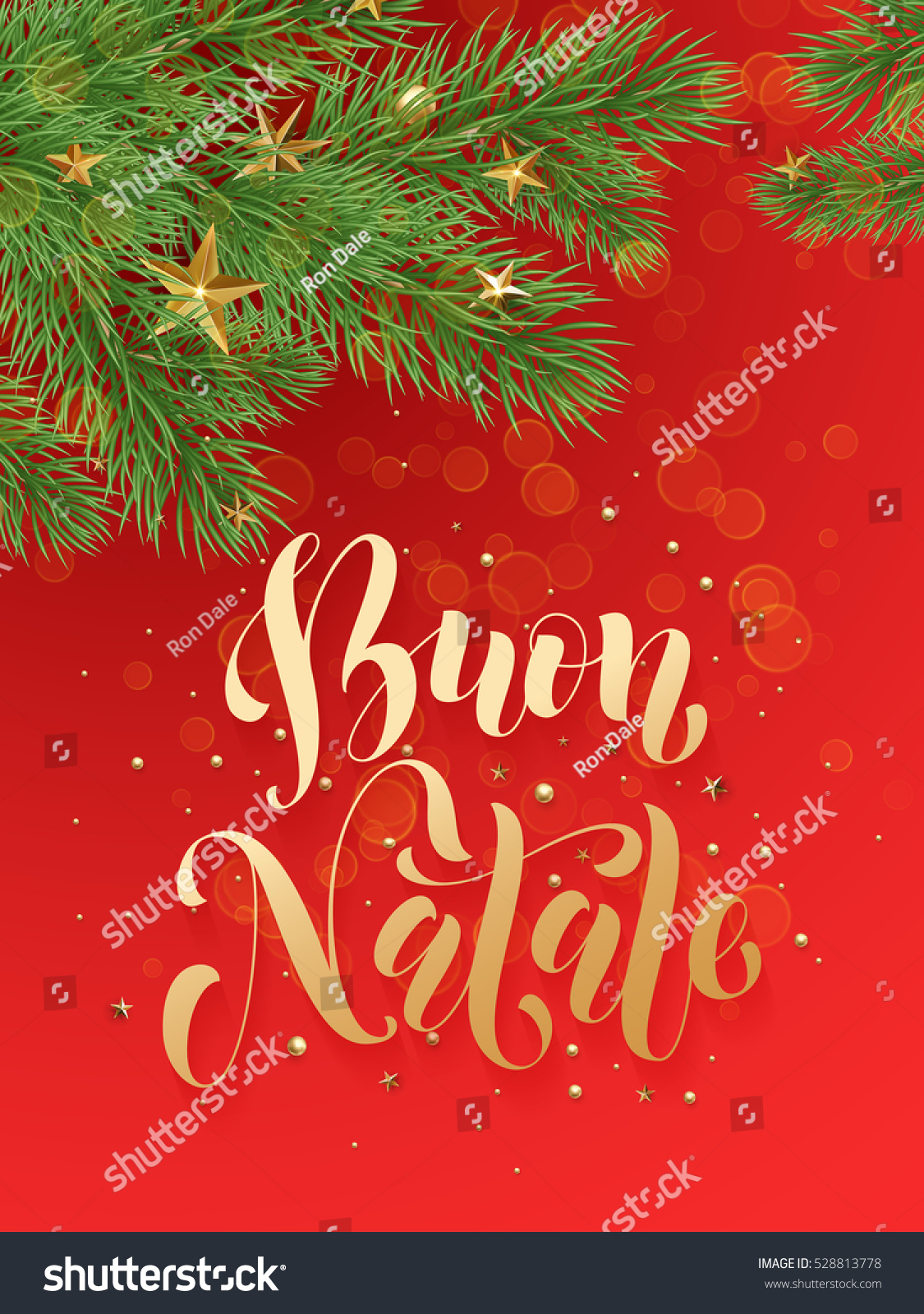buon natale italian merry christmas background decoration ornaments of gold stars golden balls christmas - Italian For Merry Christmas