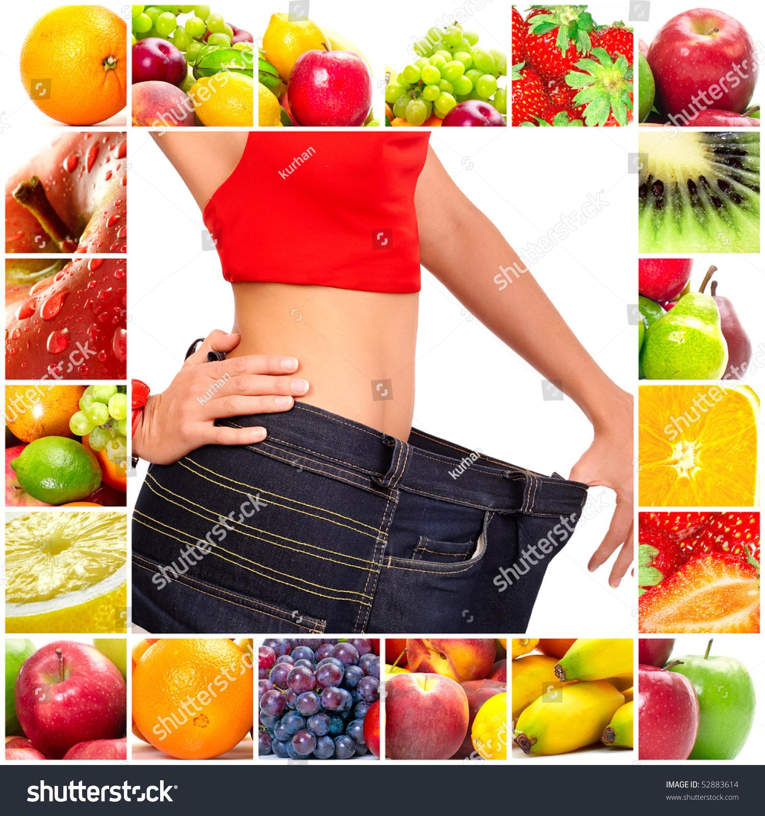 Fruit Diets: Fruit Diet. Fruits. Apple, Banana, Orange, Kiwi, Salad