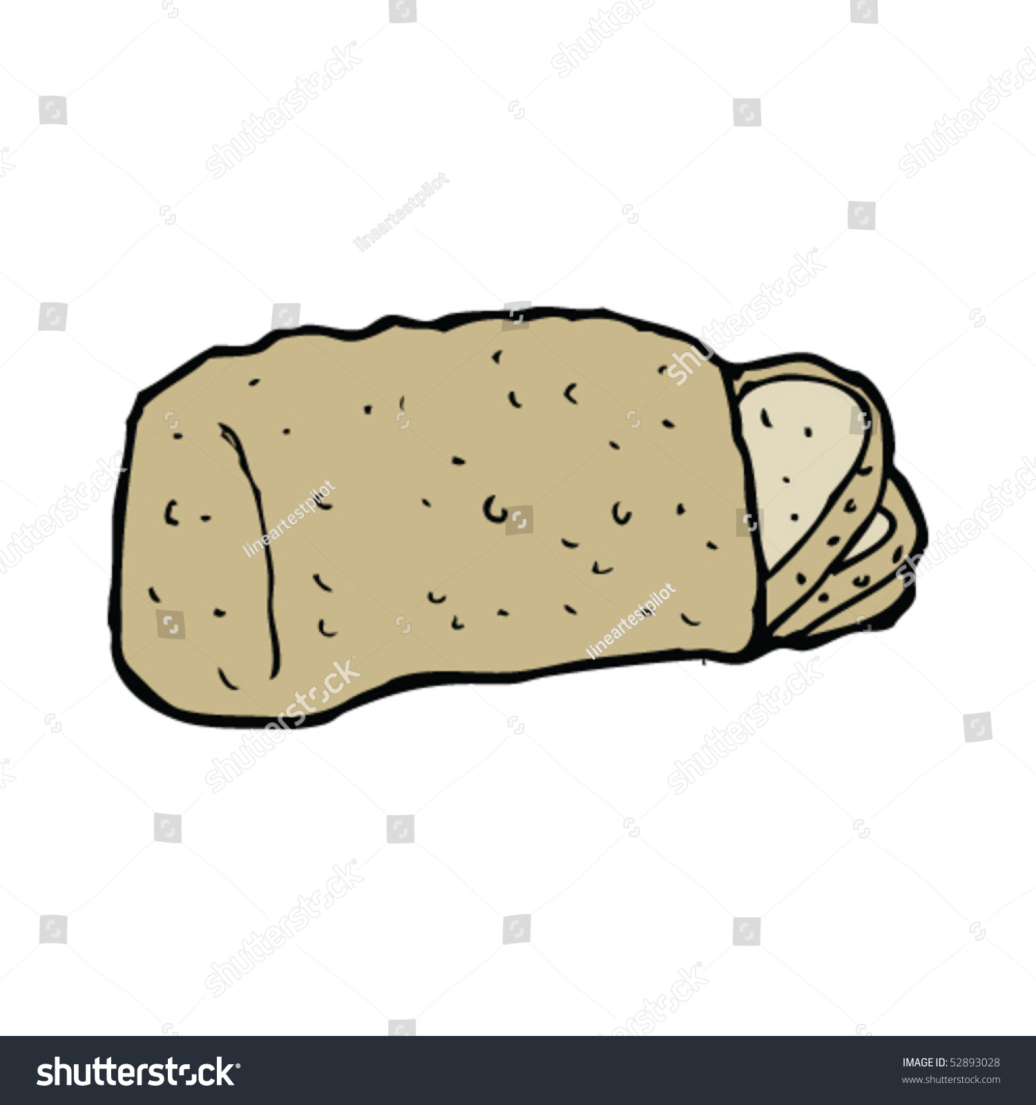 Uncategorized Loaf Of Bread Drawing loaf bread drawing stock vector 52893028 shutterstock of drawing