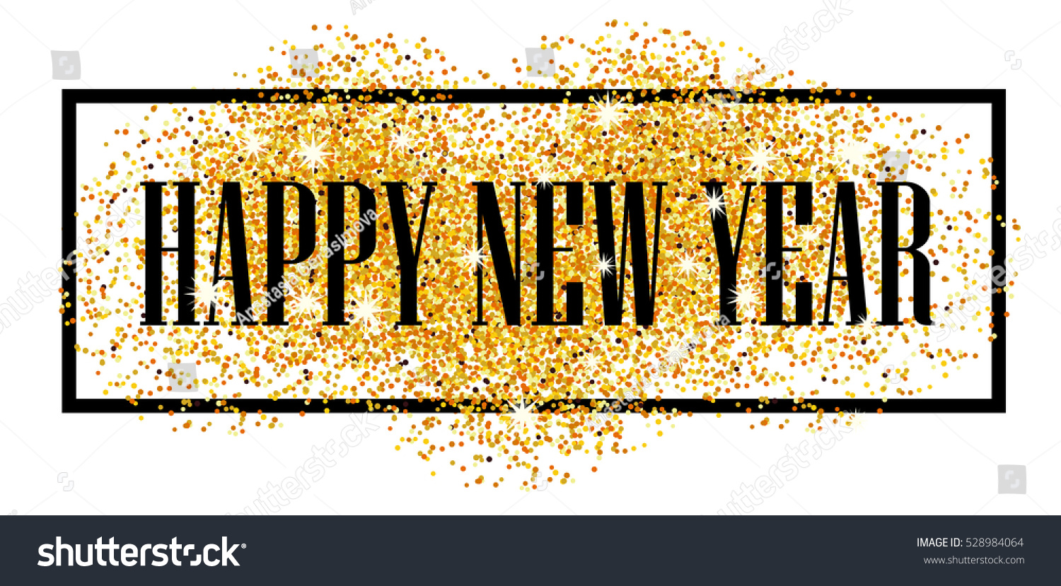 2017 happy new year gold glitter new year abstract golden background for text