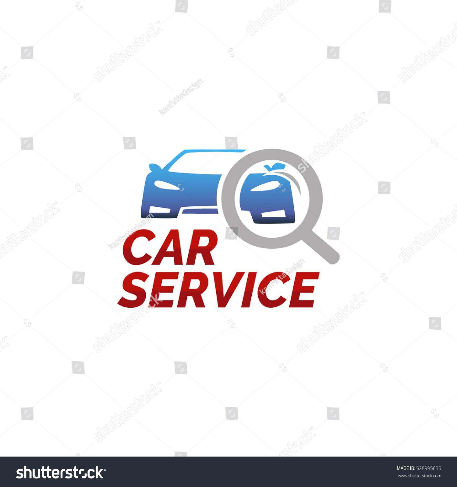 vector logo template car service car stock vector 528995635 rh shutterstock com auto repair logo templates free