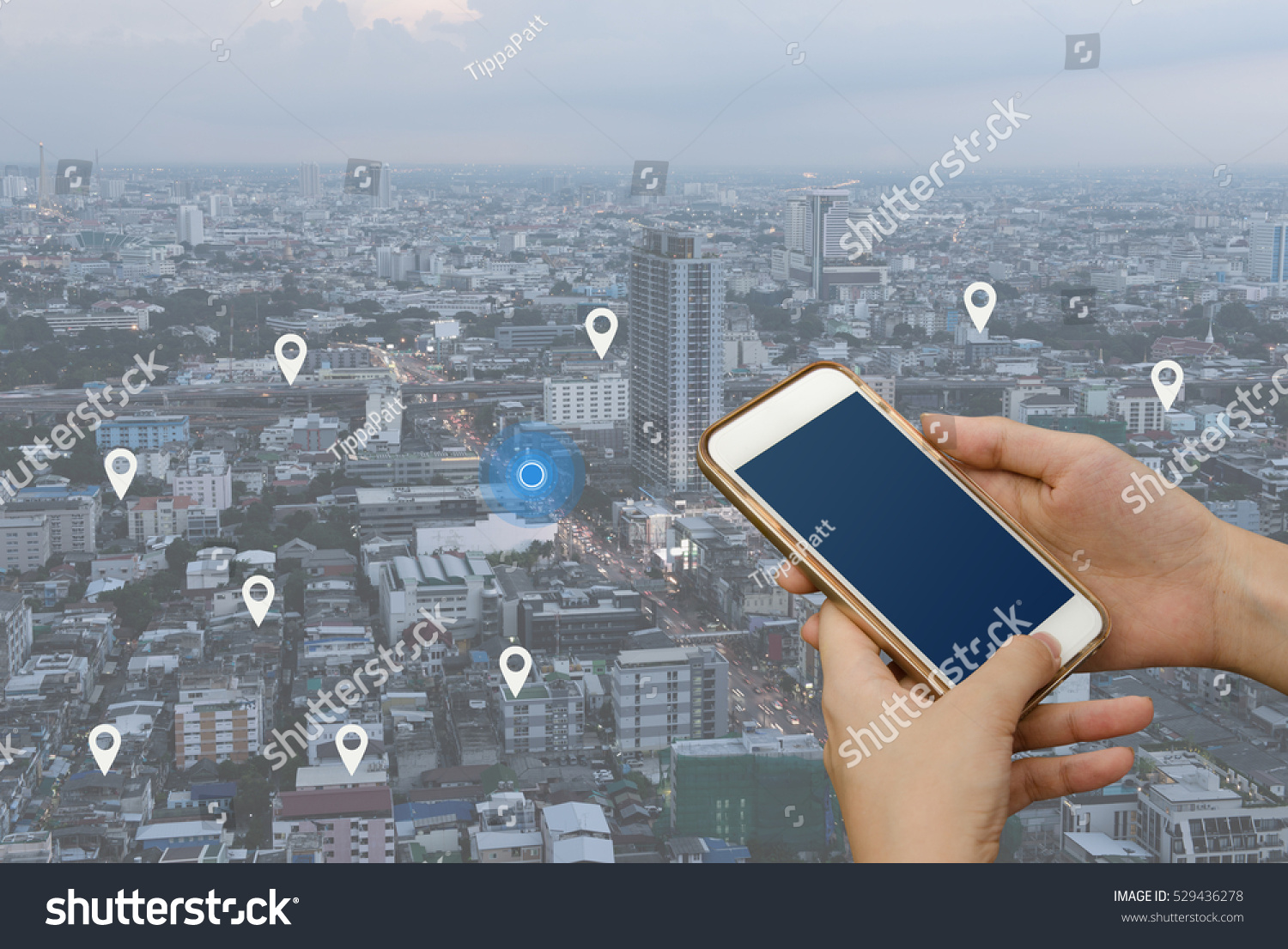 how to search mobile location