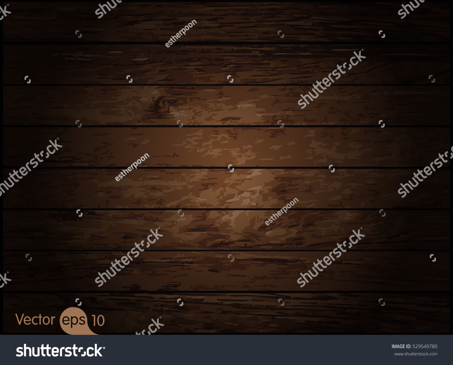 Dark Wood Texture Vector Stock Vector 529549780 - Shutterstock