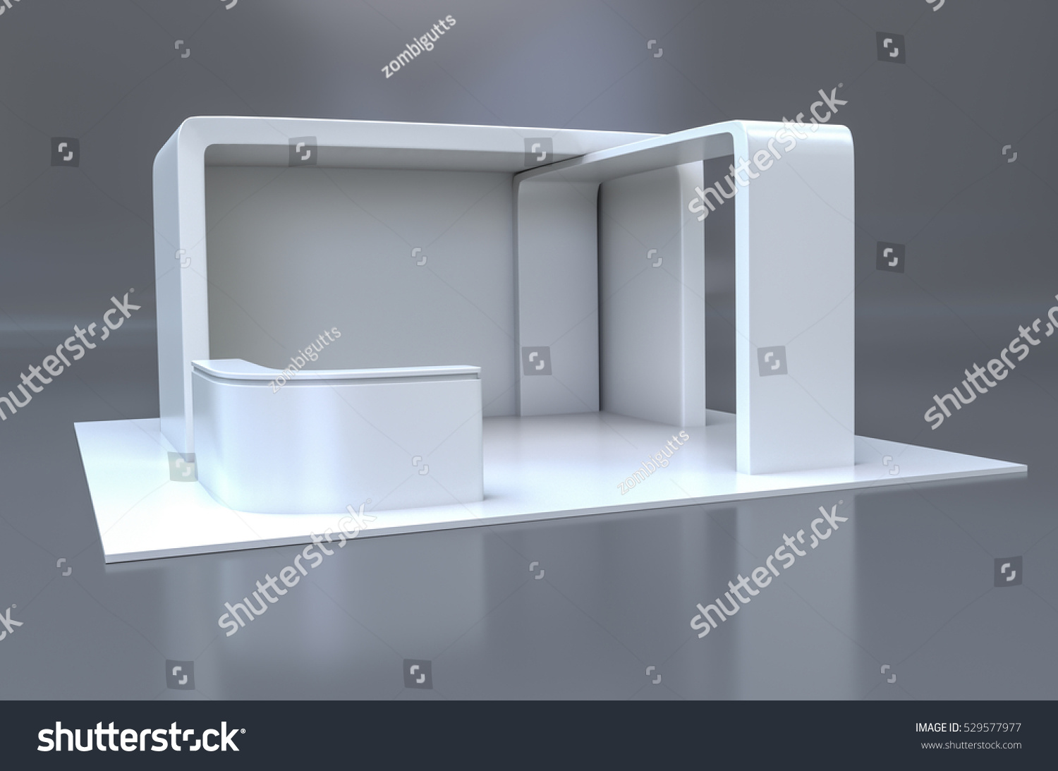 Exhibition Stand Design Illustrator : Exhibition stand plain white used mockups stock