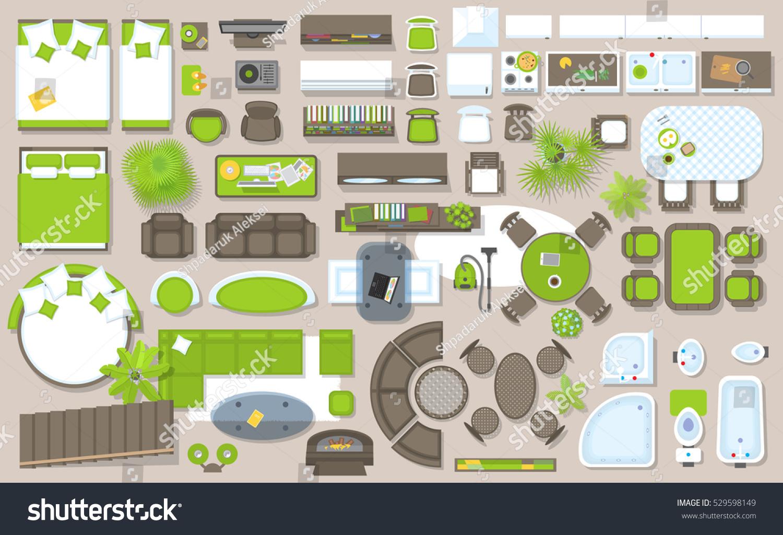 Floor Plan Furniture Online Image Amp Photo Editor Shutterstock Editor