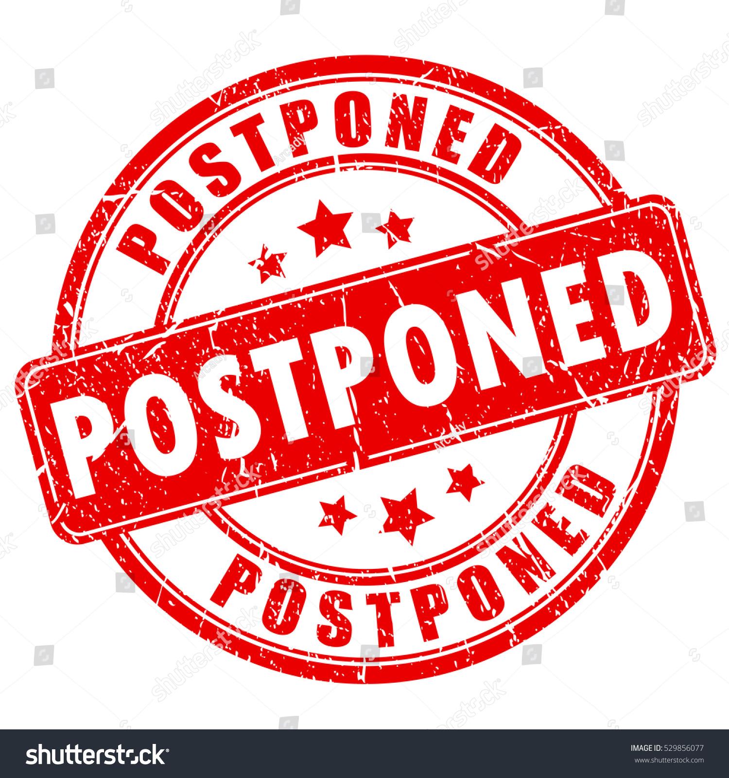 postponement deutsch