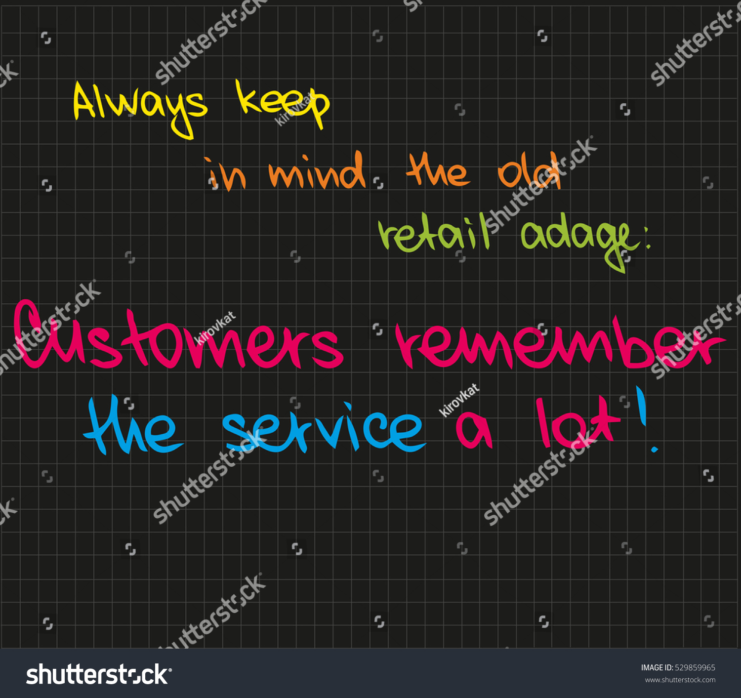 Customer Service Quote Customer Service Approach Quote Stock Vector 529859965  Shutterstock