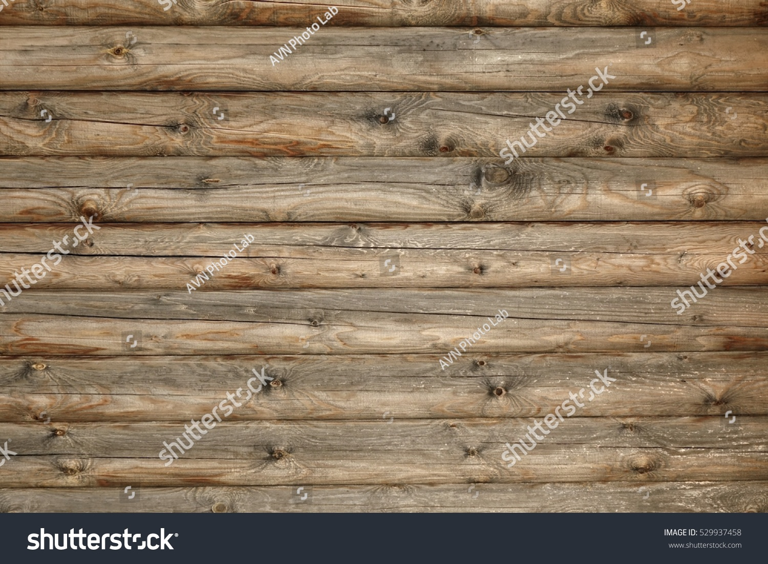 Horizontal Wood Fence Texture modern hand hewn natural log cabin stock photo 529937458
