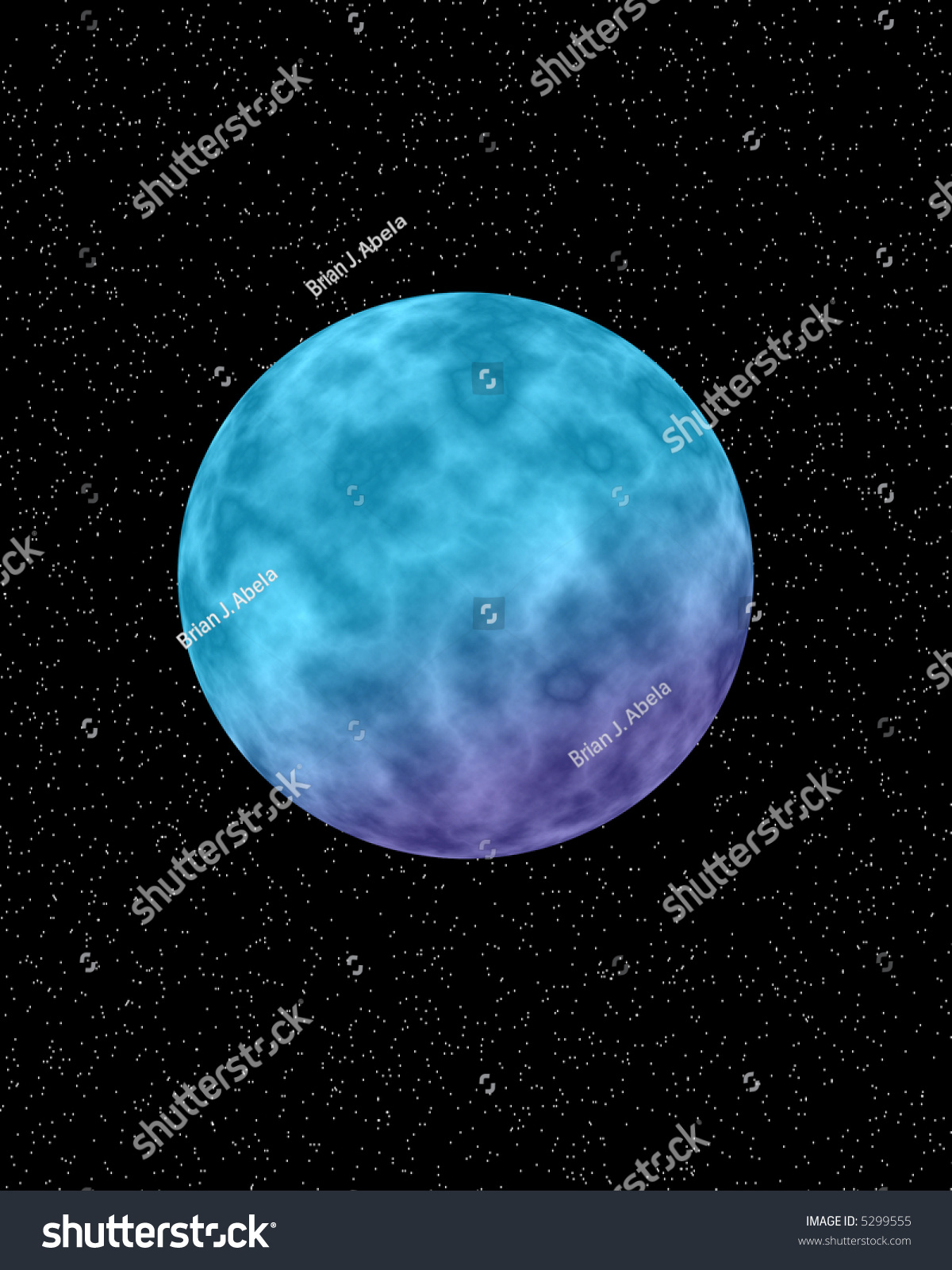 purple and blue planets - photo #21
