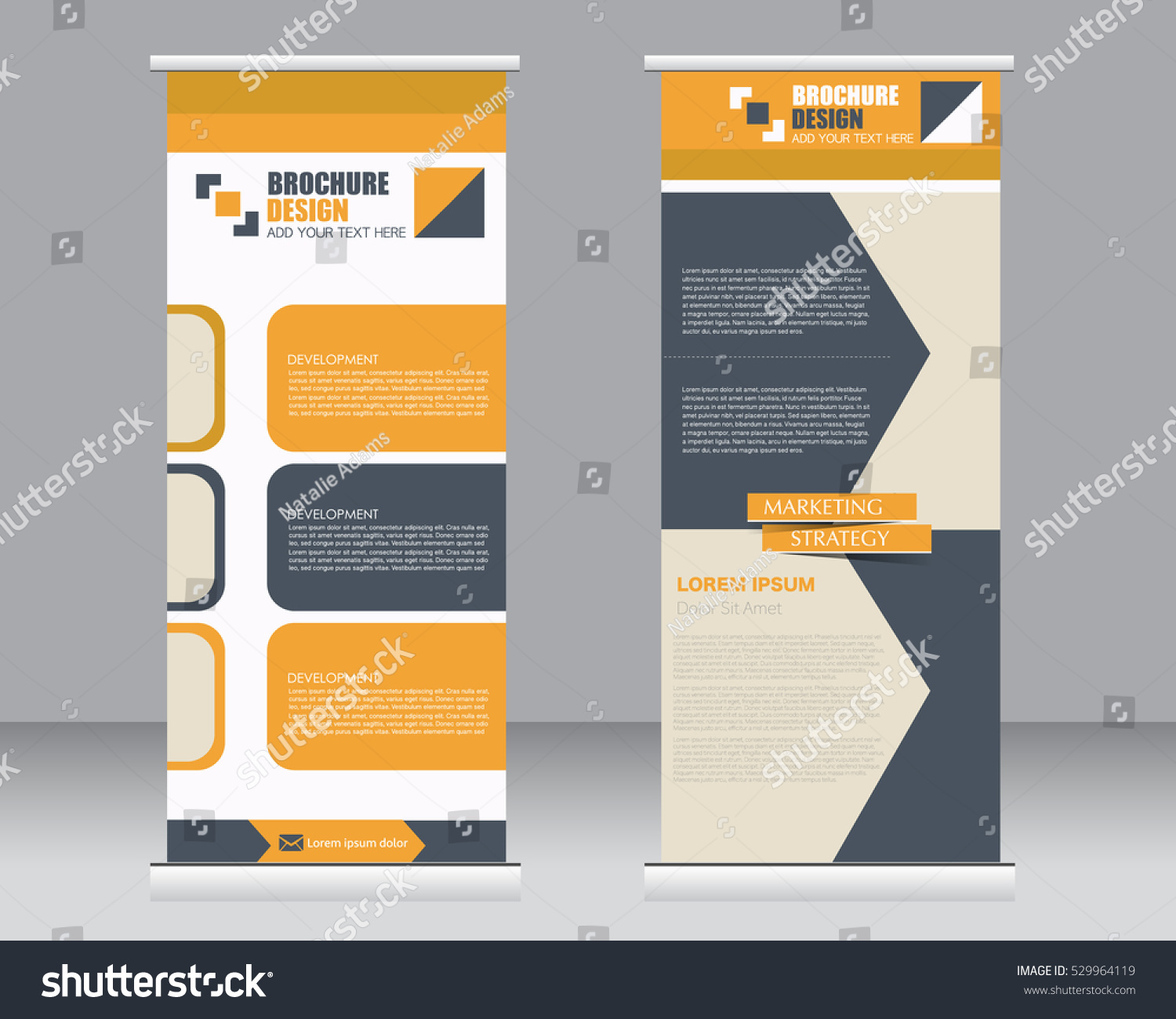 Roll up stand design templates 9287415 - hitori49.info