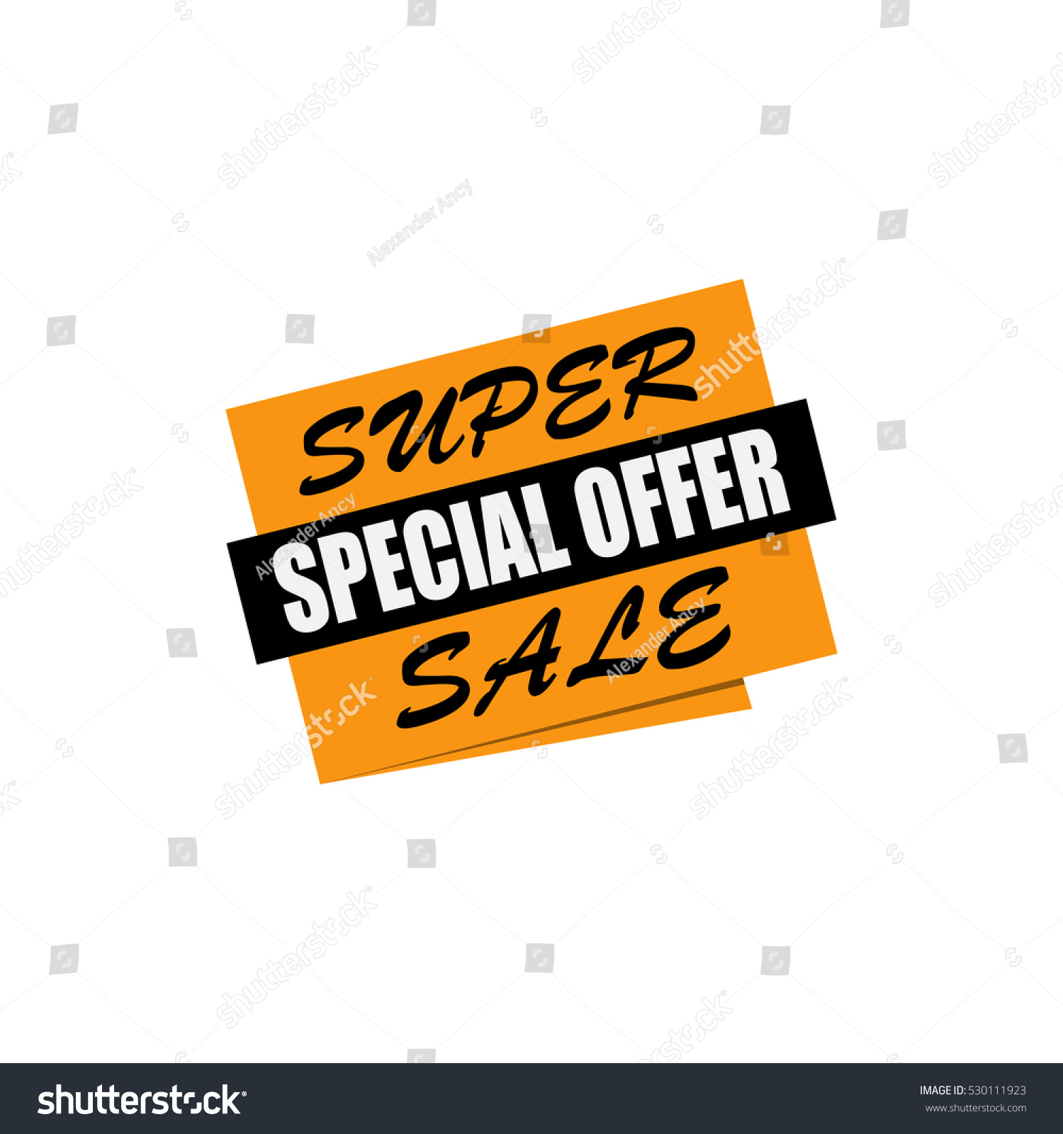 53b9924f0be7 Super sale banner. Yellow and black discount poster. Special offer. Badge.  Vector