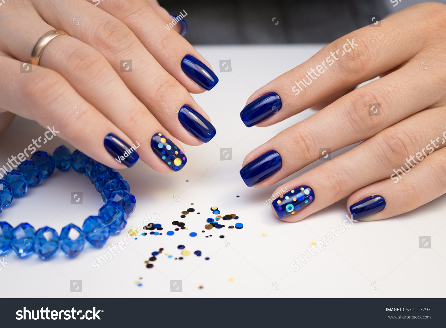 Natural Nails Gel Polish Perfect Clean Stock Photo (Edit Now ...