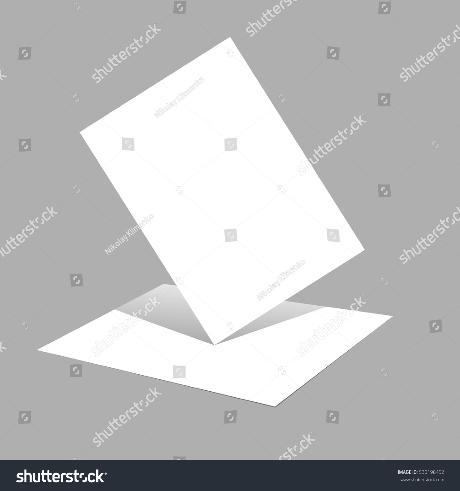 magazine booklet postcard business card brochure stock vector