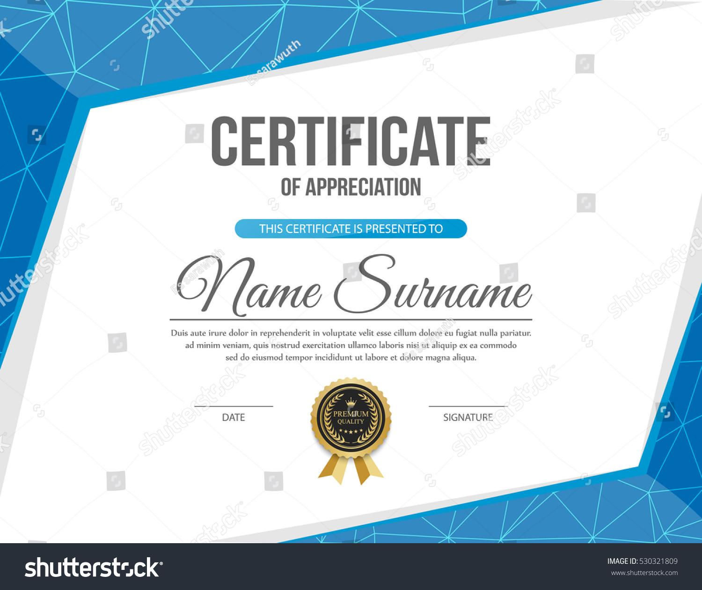 vector certificate template stock vector 530321809 vector certificate background vector certificate template