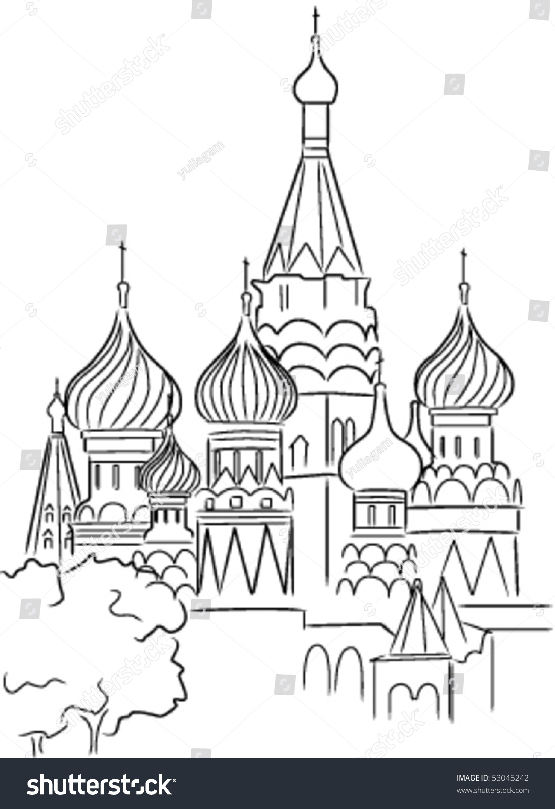 saint basils cathedral coloring pages - photo#14