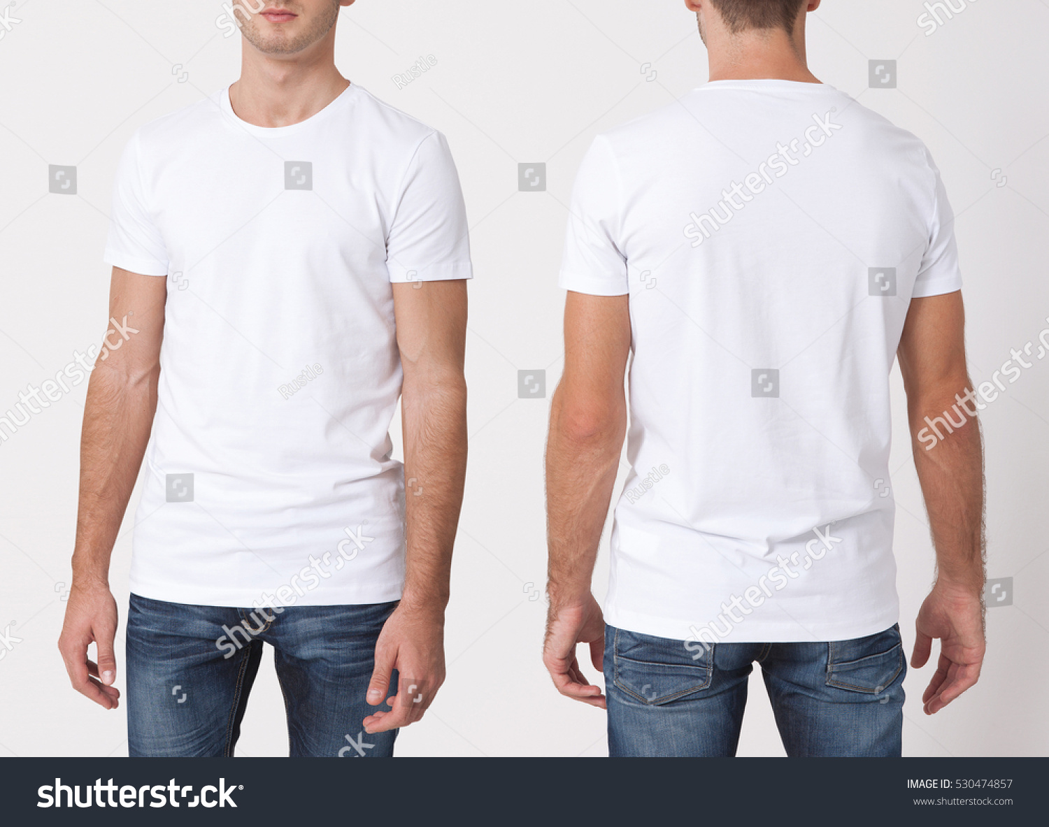 Shirt design white - T Shirt Design And People Concept Close Up Of Young Man In Blank White