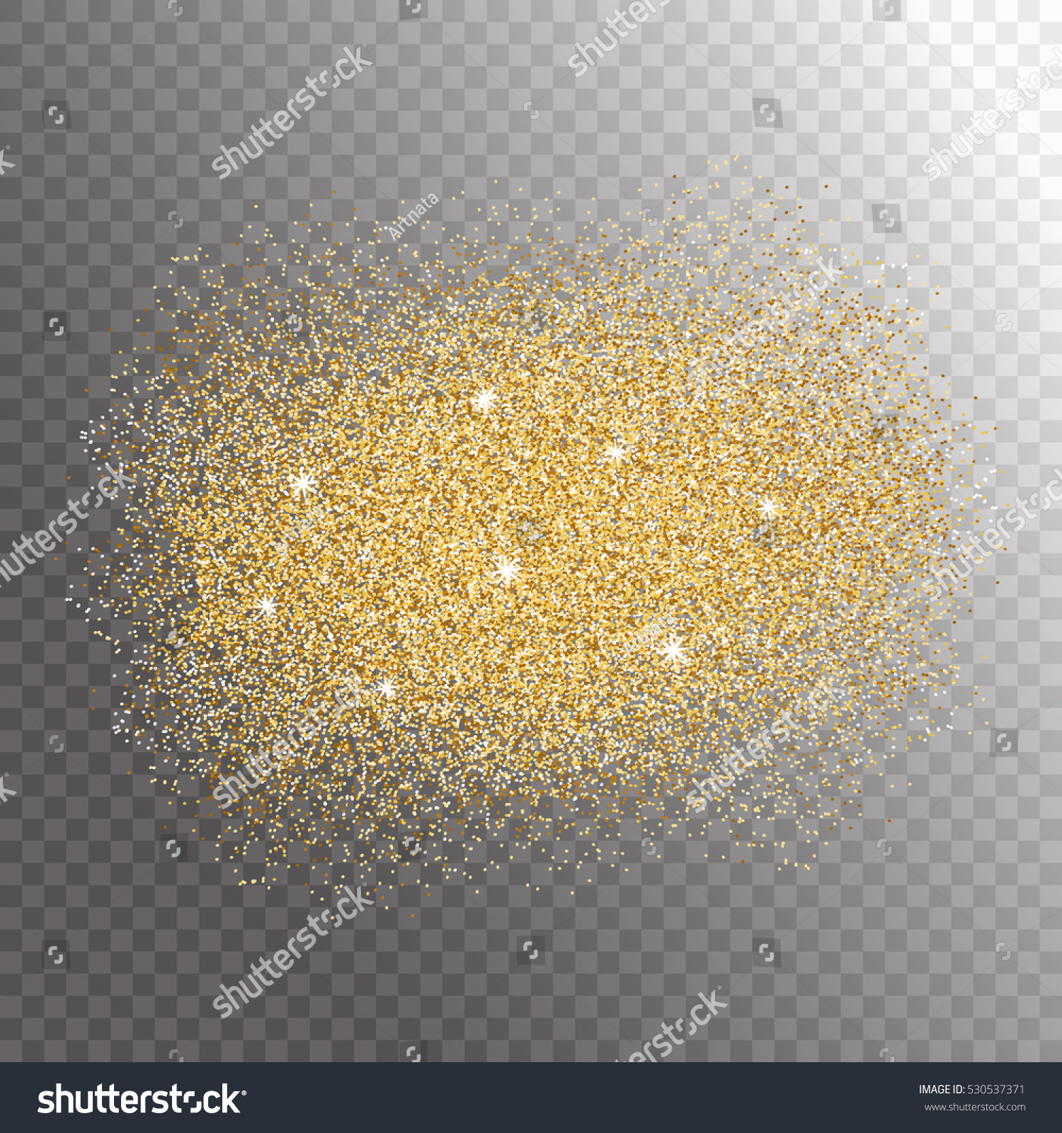 Gold glitter bright vector transparent background golden sparkles - Gold Glitter Sparkles Splash On Transparent Background Vector Illustration