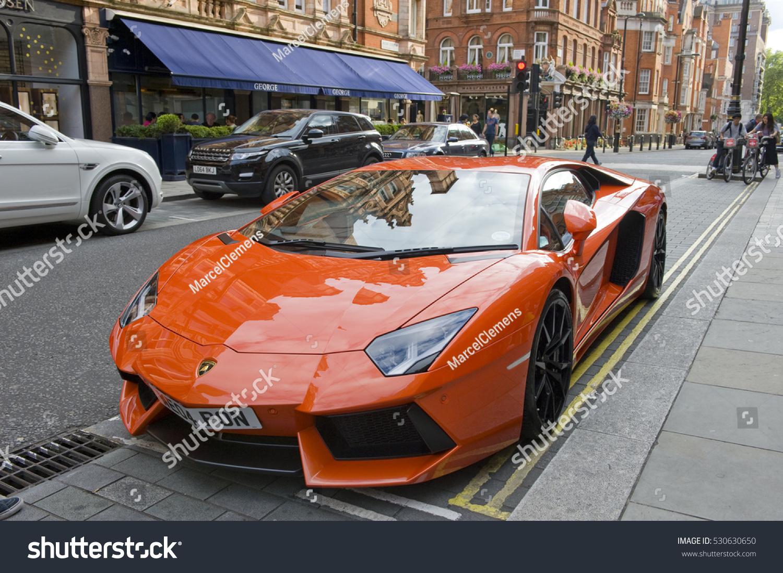 London England July 30 Lamborghini Aventador Stock Photo Edit Now