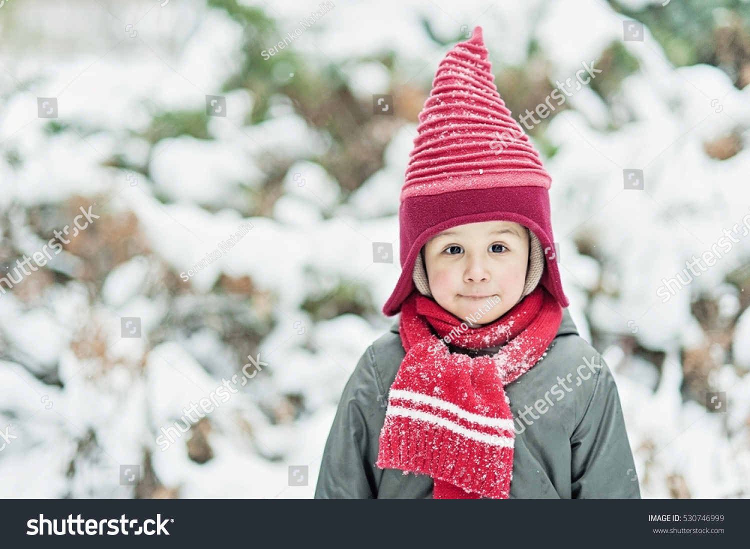 merry christmas happy holiday cute little stock photo 530746999