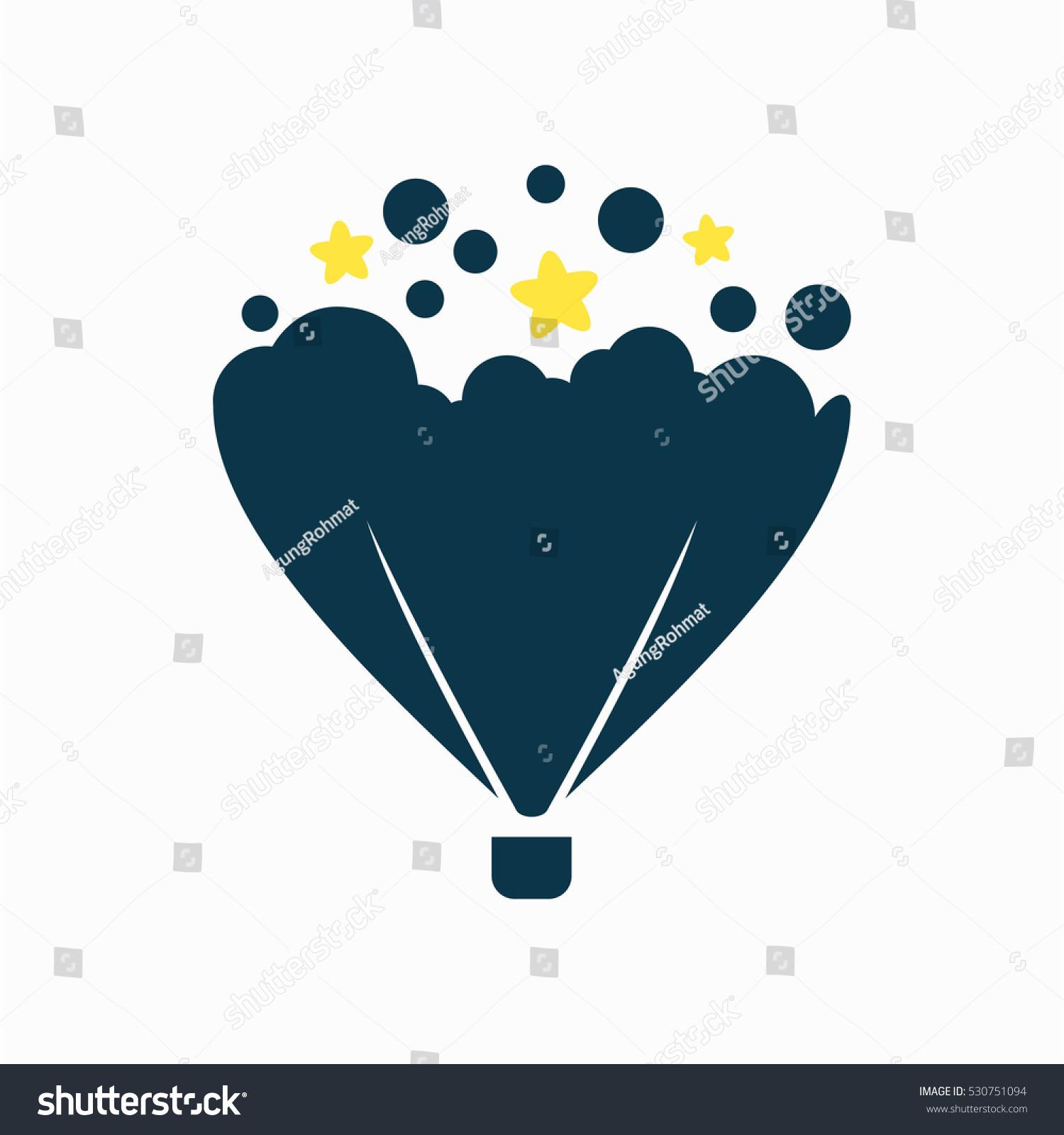 Balloon Air Logo Design Stock Vector 530751094 Shutterstock