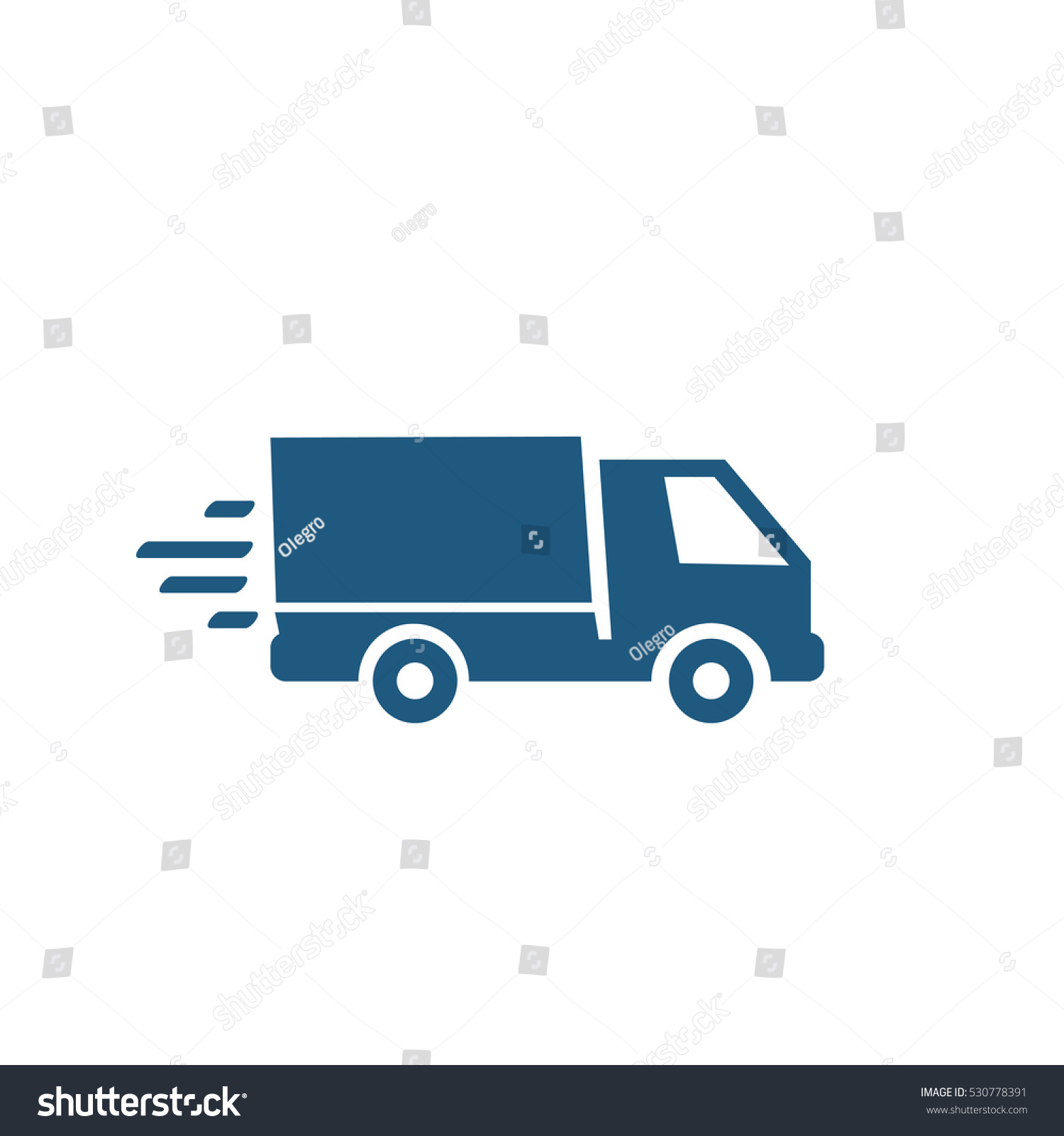 delivery truck icon vector - photo #47