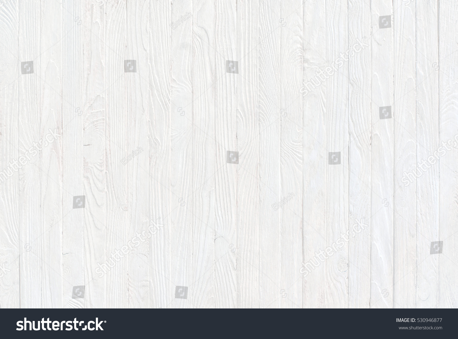 White Wooden Table Top View, Vintage Background