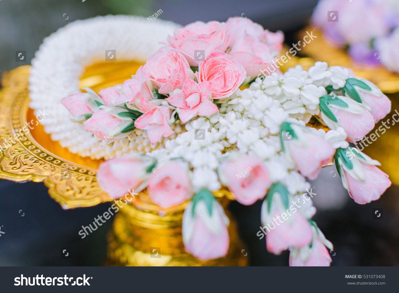 Wedding Garland Marriage Malai Stock Photo Edit Now 531073408